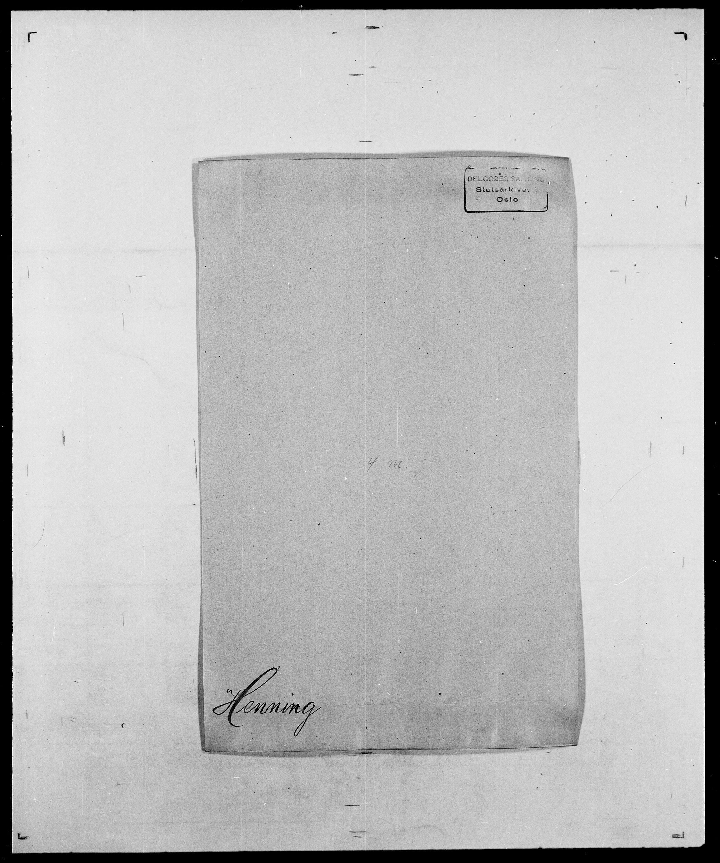 SAO, Delgobe, Charles Antoine - samling, D/Da/L0017: Helander - Hjørne, s. 183