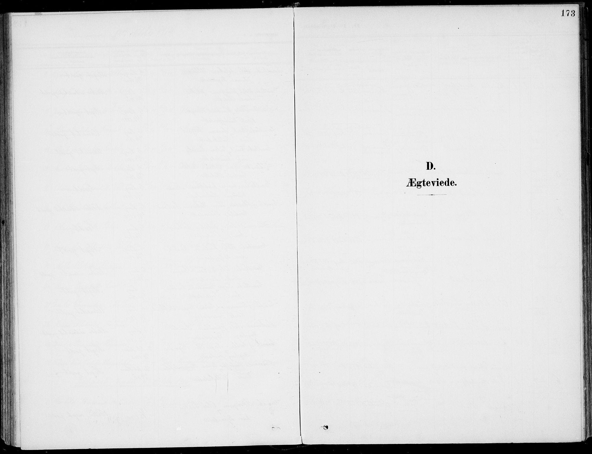 SAKO, Sigdal kirkebøker, F/Fb/L0002: Ministerialbok nr. II 2, 1901-1914, s. 173