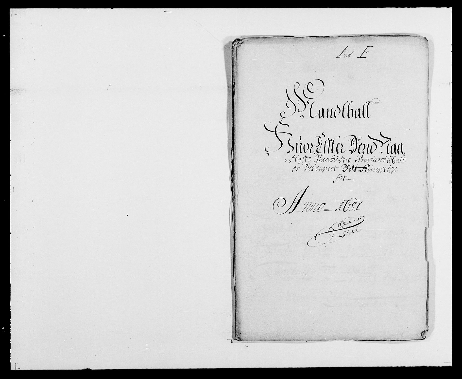 RA, Rentekammeret inntil 1814, Reviderte regnskaper, Fogderegnskap, R21/L1445: Fogderegnskap Ringerike og Hallingdal, 1681-1689, s. 130
