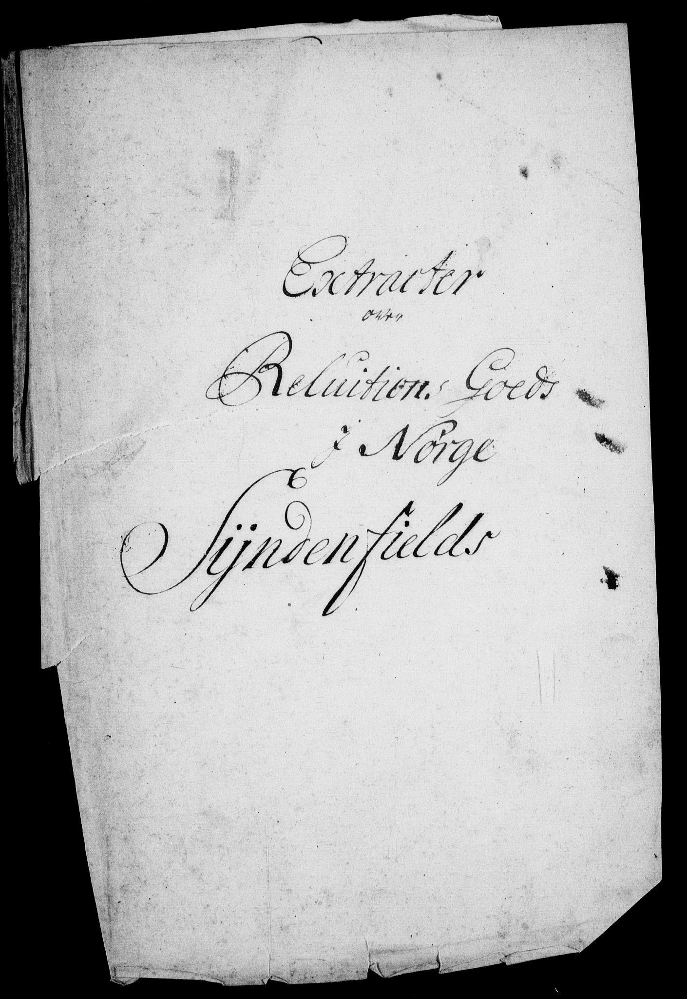 RA, Rentekammeret inntil 1814, Realistisk ordnet avdeling, On/L0011: [Jj 12]: Salg av pante- og reluisjonsgods i Norge, 1658-1729, s. 270