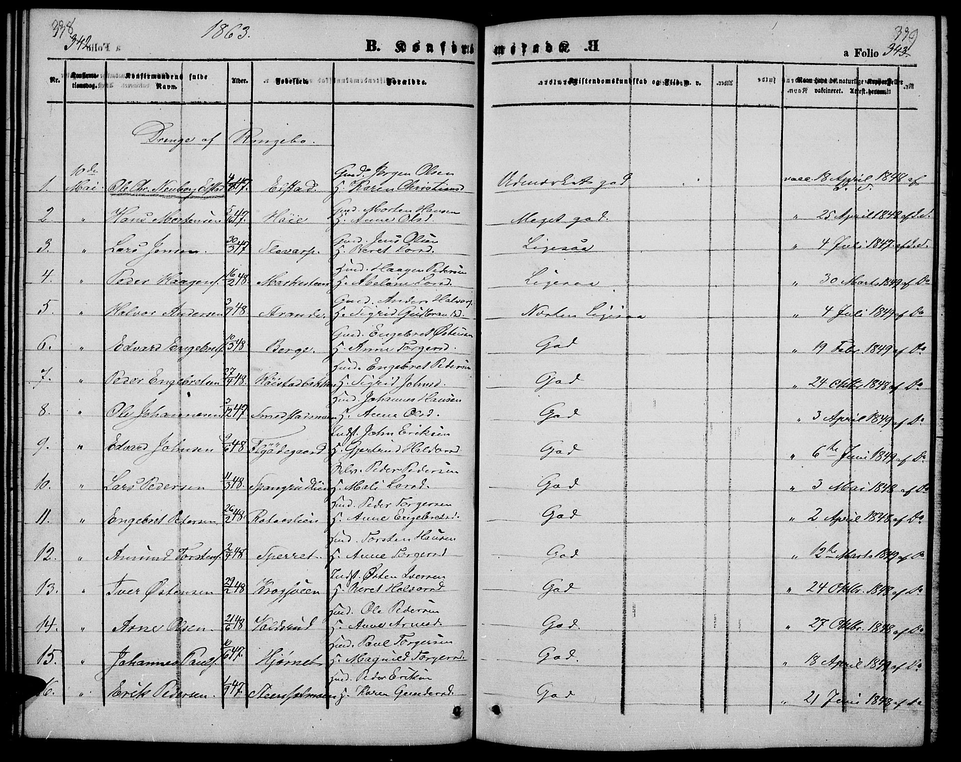SAH, Ringebu prestekontor, Klokkerbok nr. 3, 1854-1866, s. 338-339
