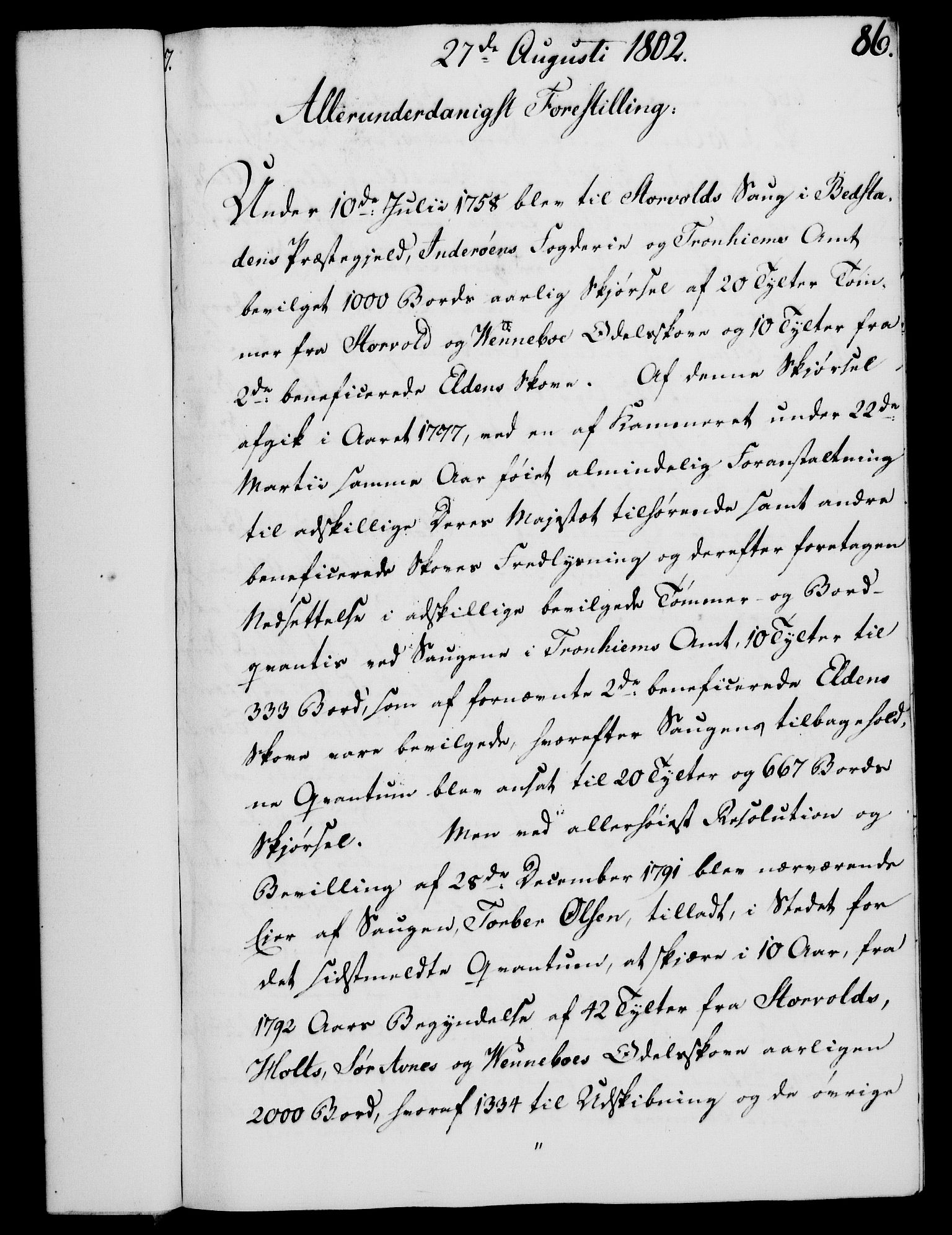 RA, Rentekammeret, Kammerkanselliet, G/Gf/Gfa/L0084: Norsk relasjons- og resolusjonsprotokoll (merket RK 52.84), 1802, s. 529