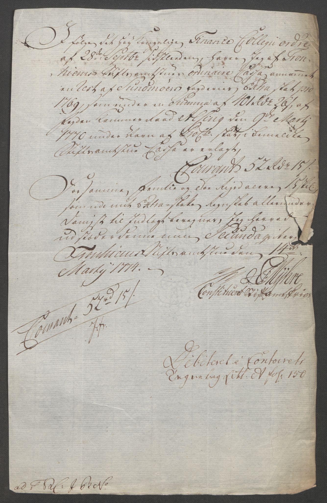 RA, Rentekammeret inntil 1814, Reviderte regnskaper, Fogderegnskap, R54/L3645: Ekstraskatten Sunnmøre, 1762-1772, s. 345