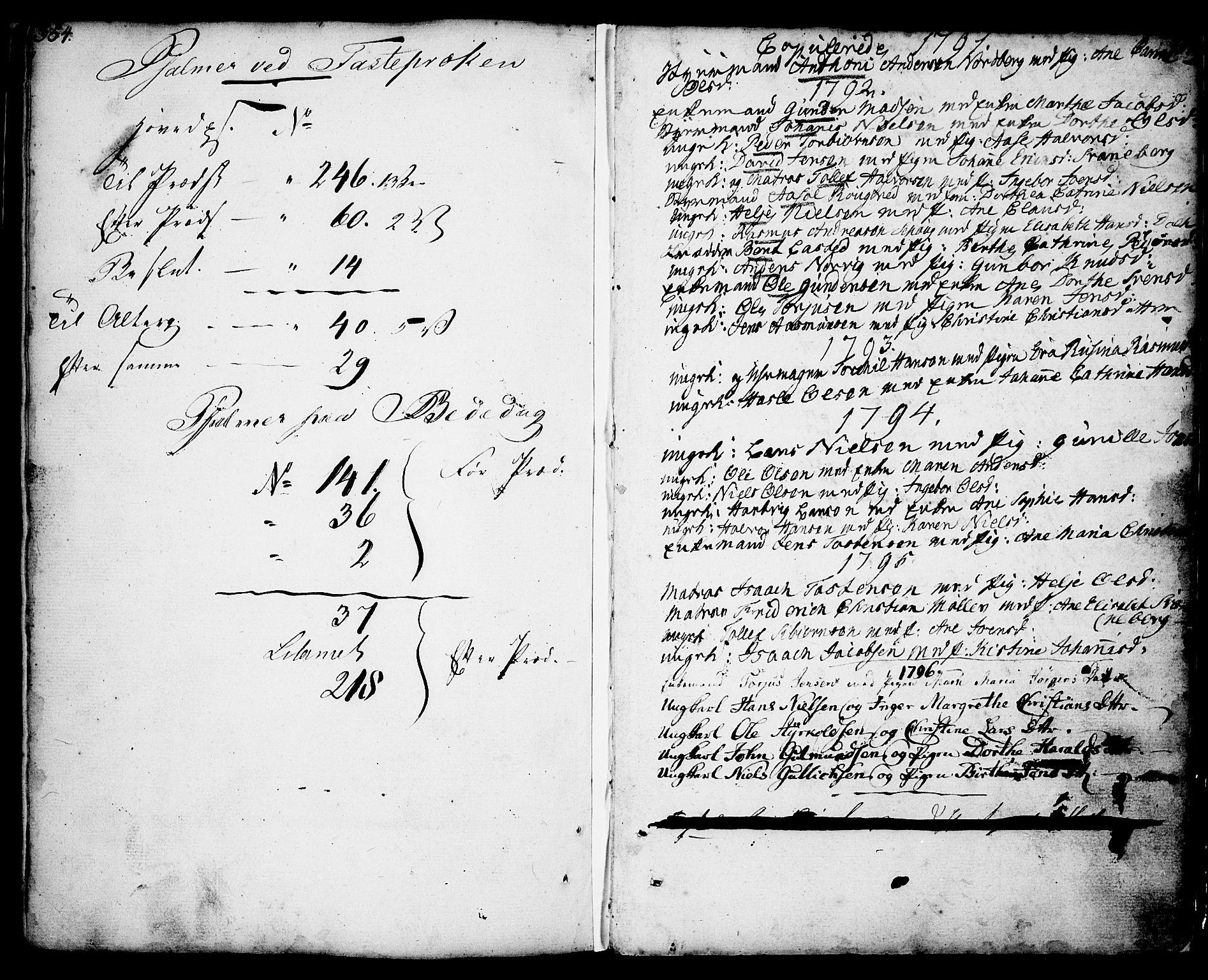 SAKO, Porsgrunn kirkebøker , F/Fa/L0001: Ministerialbok nr. 1, 1764-1814, s. 357