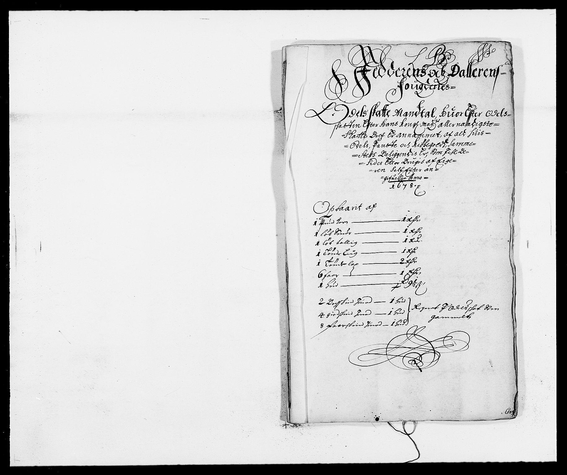 RA, Rentekammeret inntil 1814, Reviderte regnskaper, Fogderegnskap, R46/L2718: Fogderegnskap Jæren og Dalane, 1678, s. 48