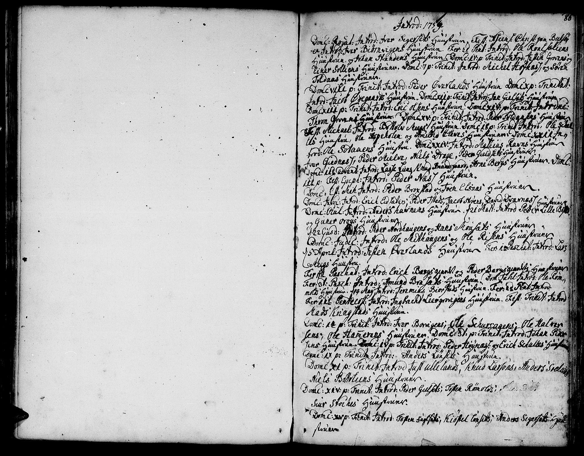 SAT, Ministerialprotokoller, klokkerbøker og fødselsregistre - Møre og Romsdal, 555/L0648: Ministerialbok nr. 555A01, 1759-1793, s. 86