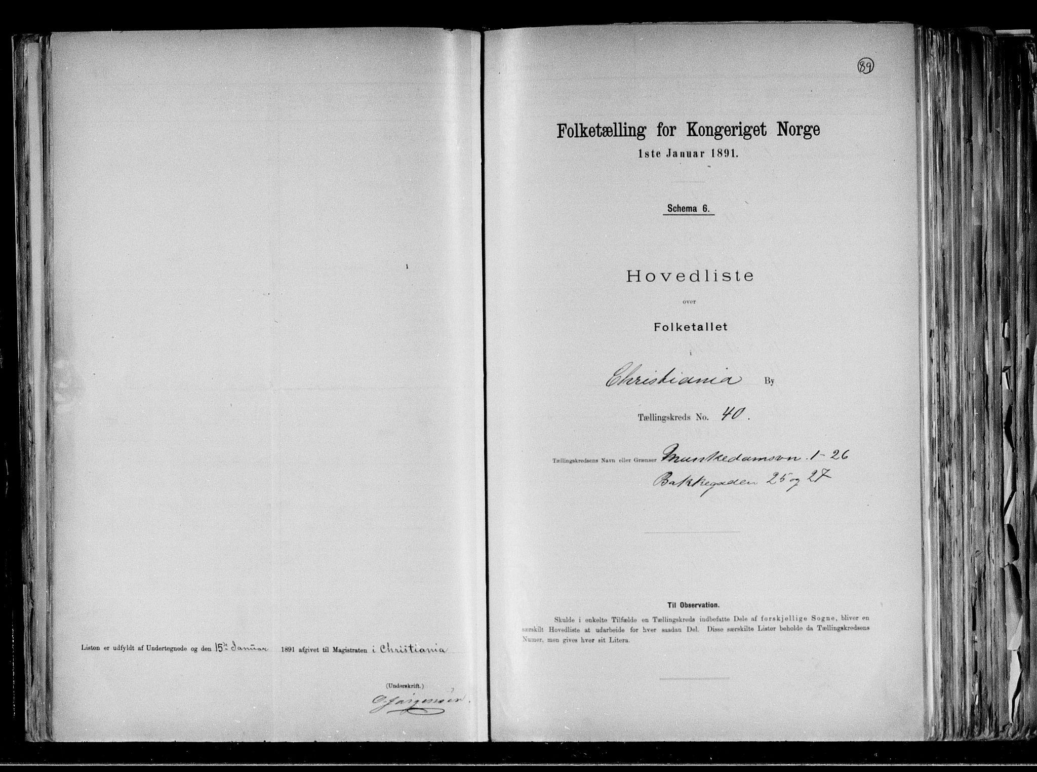 RA, Folketelling 1891 for 0301 Kristiania kjøpstad, 1891, s. 12975