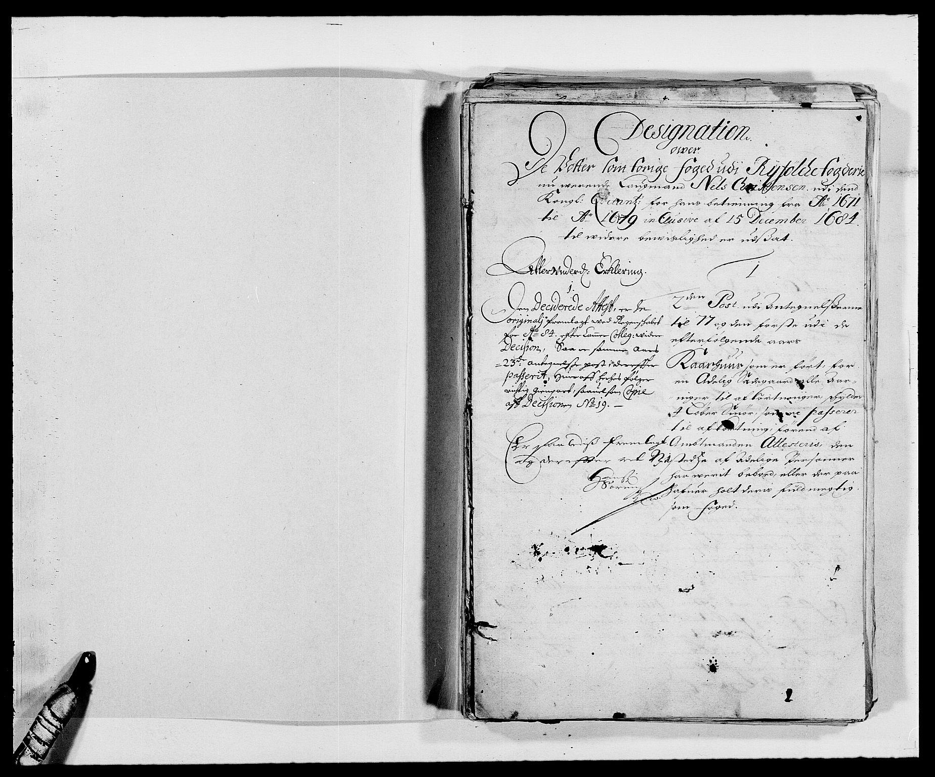 RA, Rentekammeret inntil 1814, Reviderte regnskaper, Fogderegnskap, R47/L2849: Fogderegnskap Ryfylke, 1679, s. 257