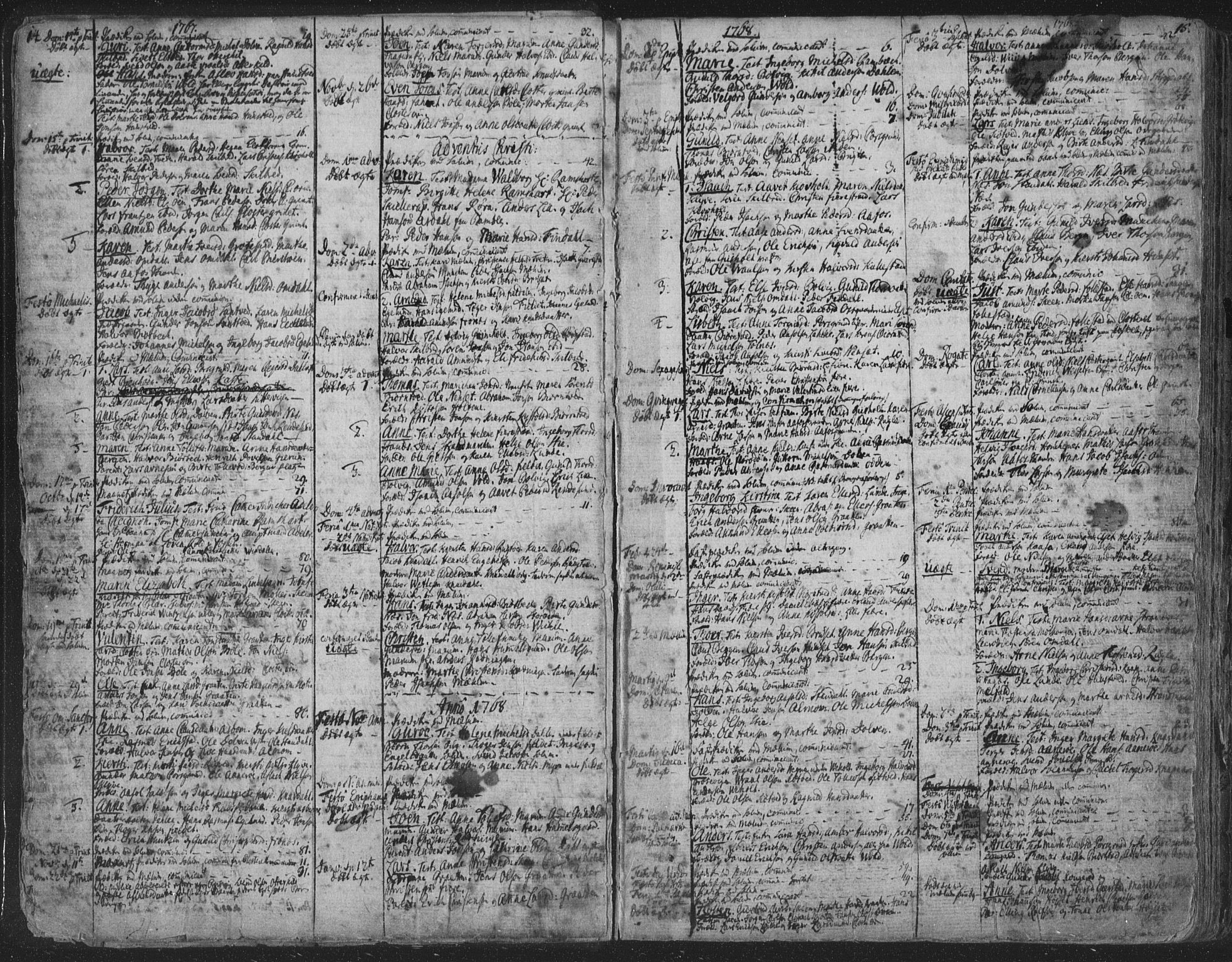 SAKO, Solum kirkebøker, F/Fa/L0003: Ministerialbok nr. I 3, 1761-1814, s. 14-15