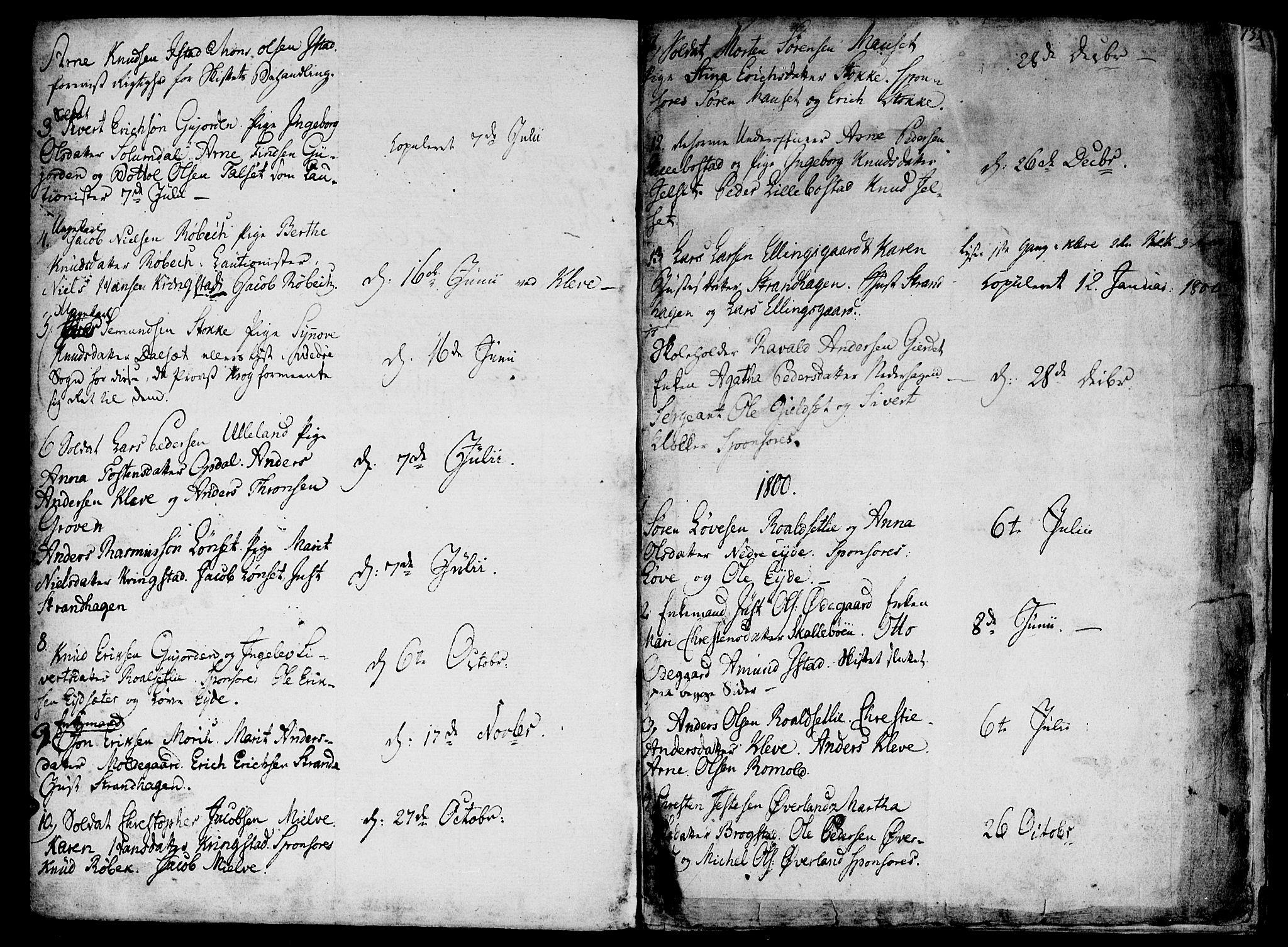 SAT, Ministerialprotokoller, klokkerbøker og fødselsregistre - Møre og Romsdal, 555/L0650: Ministerialbok nr. 555A02 /2, 1798-1821, s. 134