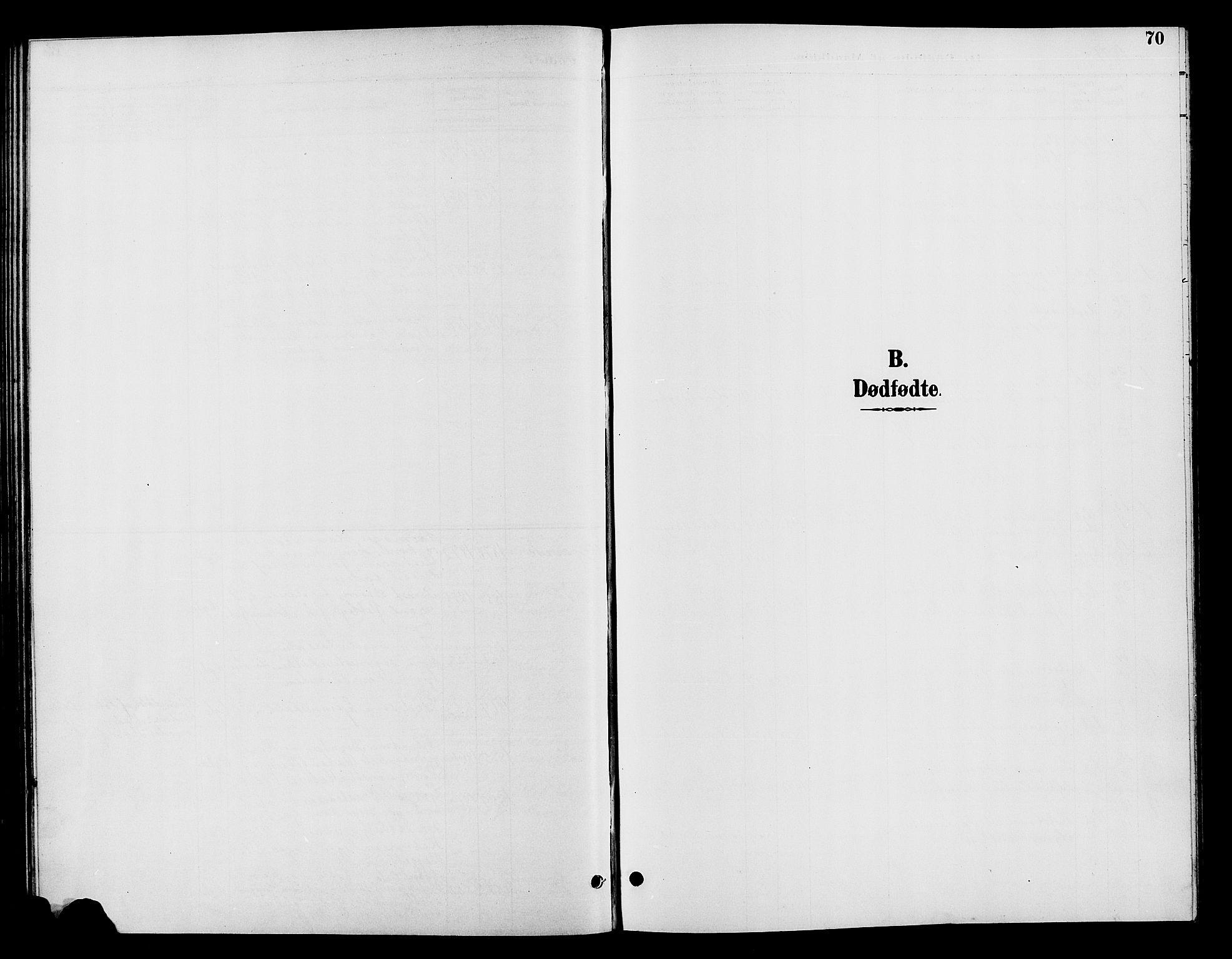 SAH, Vardal prestekontor, H/Ha/Hab/L0009: Klokkerbok nr. 9, 1894-1902, s. 70