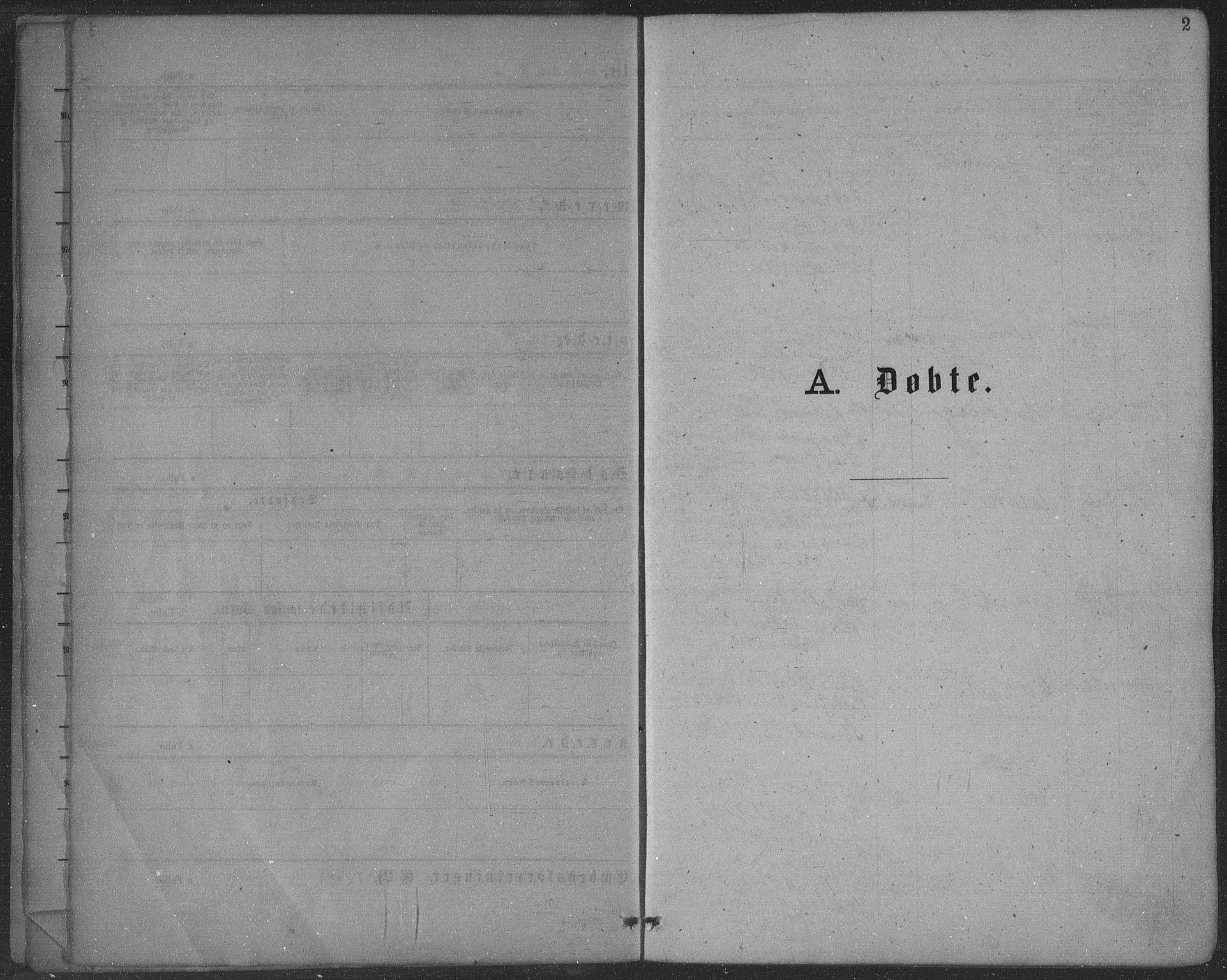 SAKO, Seljord kirkebøker, F/Fa/L0014: Ministerialbok nr. I 14, 1877-1886, s. 2