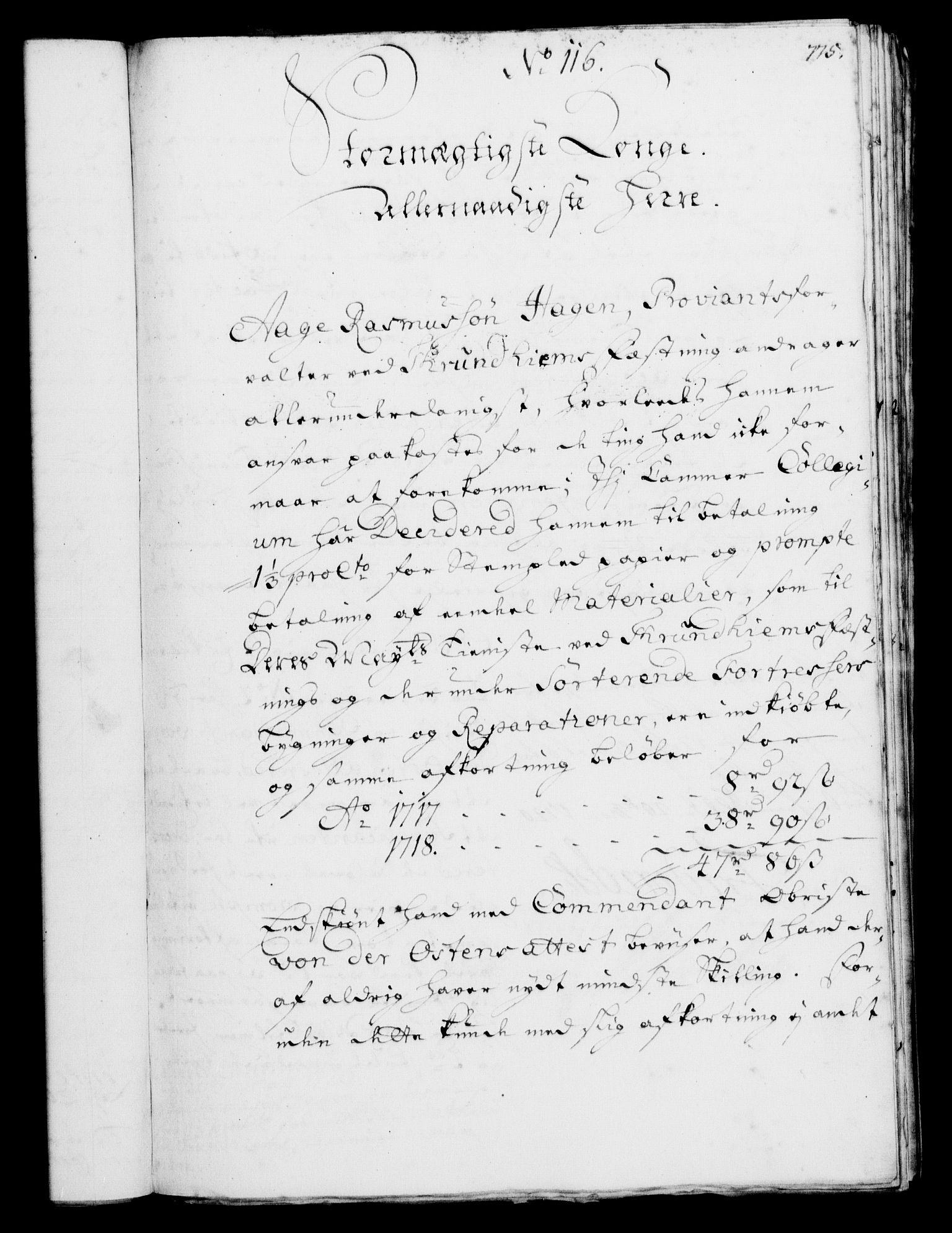 RA, Rentekammeret, Kammerkanselliet, G/Gf/Gfa/L0002: Norsk relasjons- og resolusjonsprotokoll (merket RK 52.2), 1720, s. 749