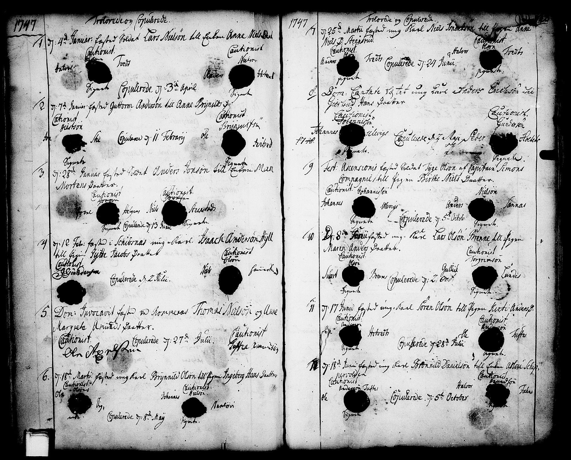 SAKO, Holla kirkebøker, F/Fa/L0001: Ministerialbok nr. 1, 1717-1779, s. 161