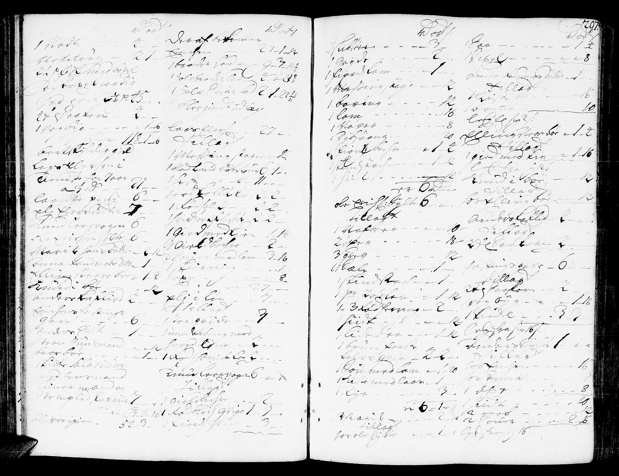 SAT, Romsdal sorenskriveri, 3/3A/L0006: Skifteprotokoll, 1718-1730, s. 296b-297a