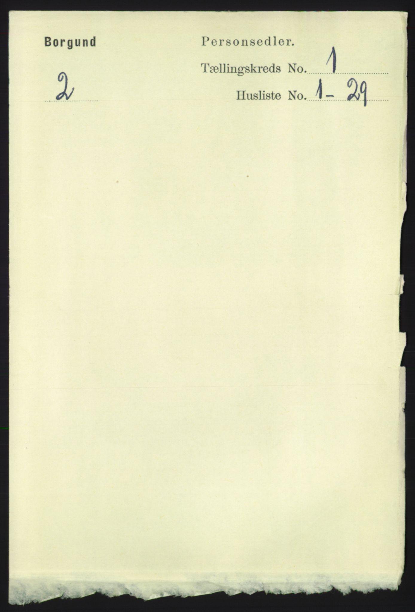 RA, Folketelling 1891 for 1531 Borgund herred, 1891, s. 118