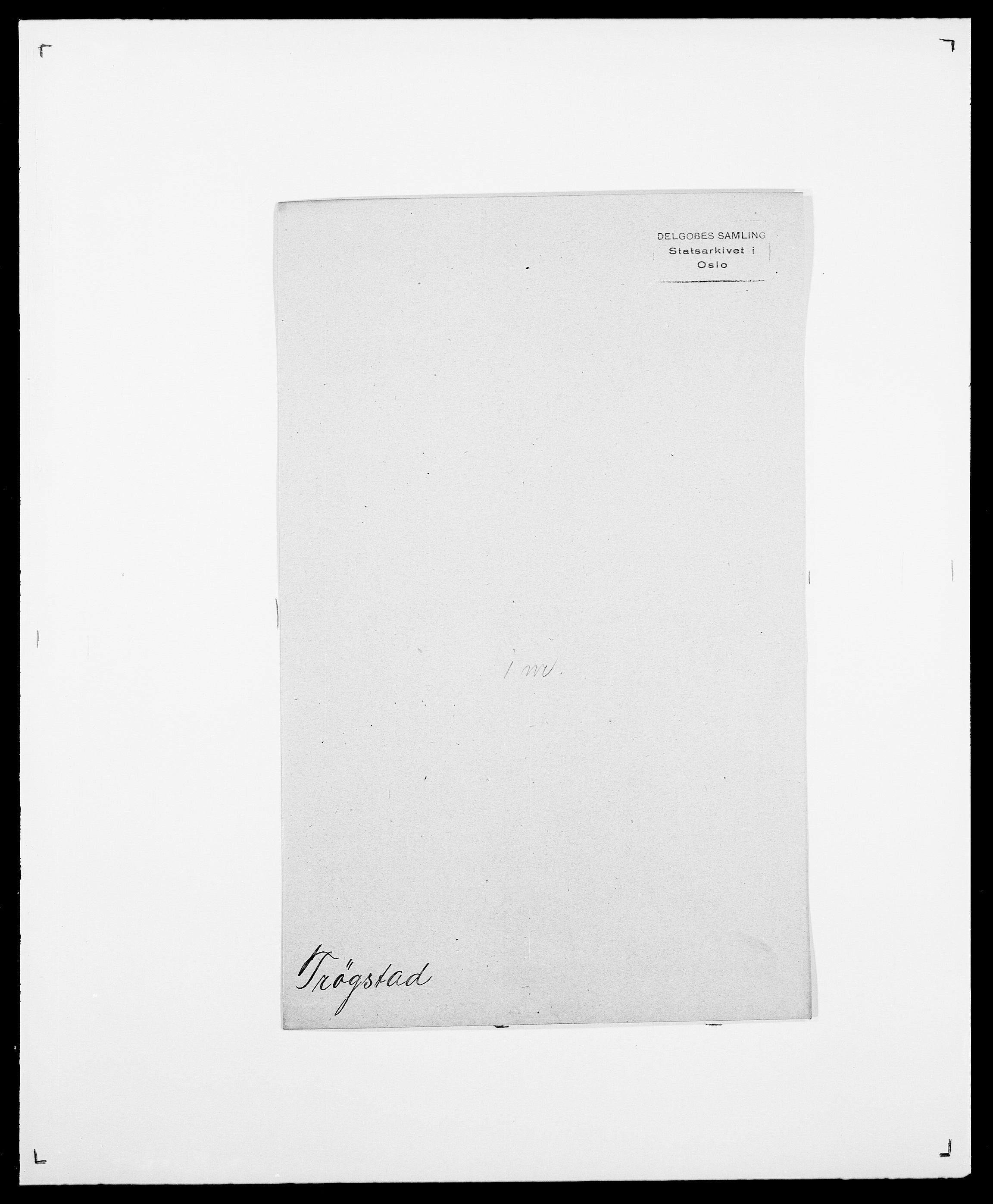 SAO, Delgobe, Charles Antoine - samling, D/Da/L0039: Thorsen - Urup, s. 430
