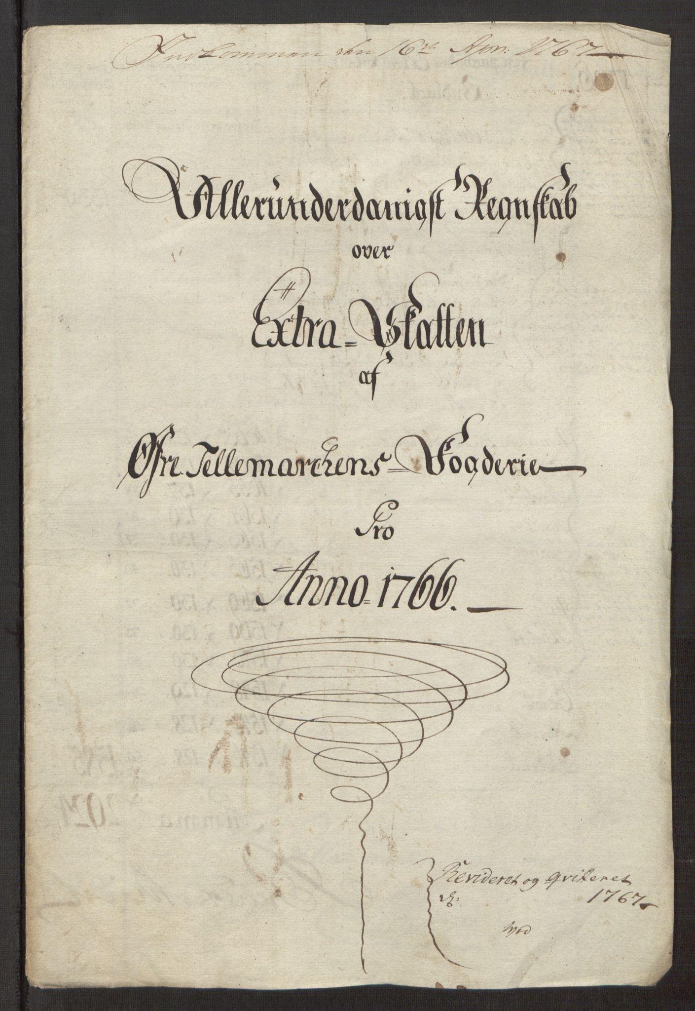 RA, Rentekammeret inntil 1814, Reviderte regnskaper, Fogderegnskap, R38/L2293: Ekstraskatten Øvre Telemark, 1762-1770, s. 69
