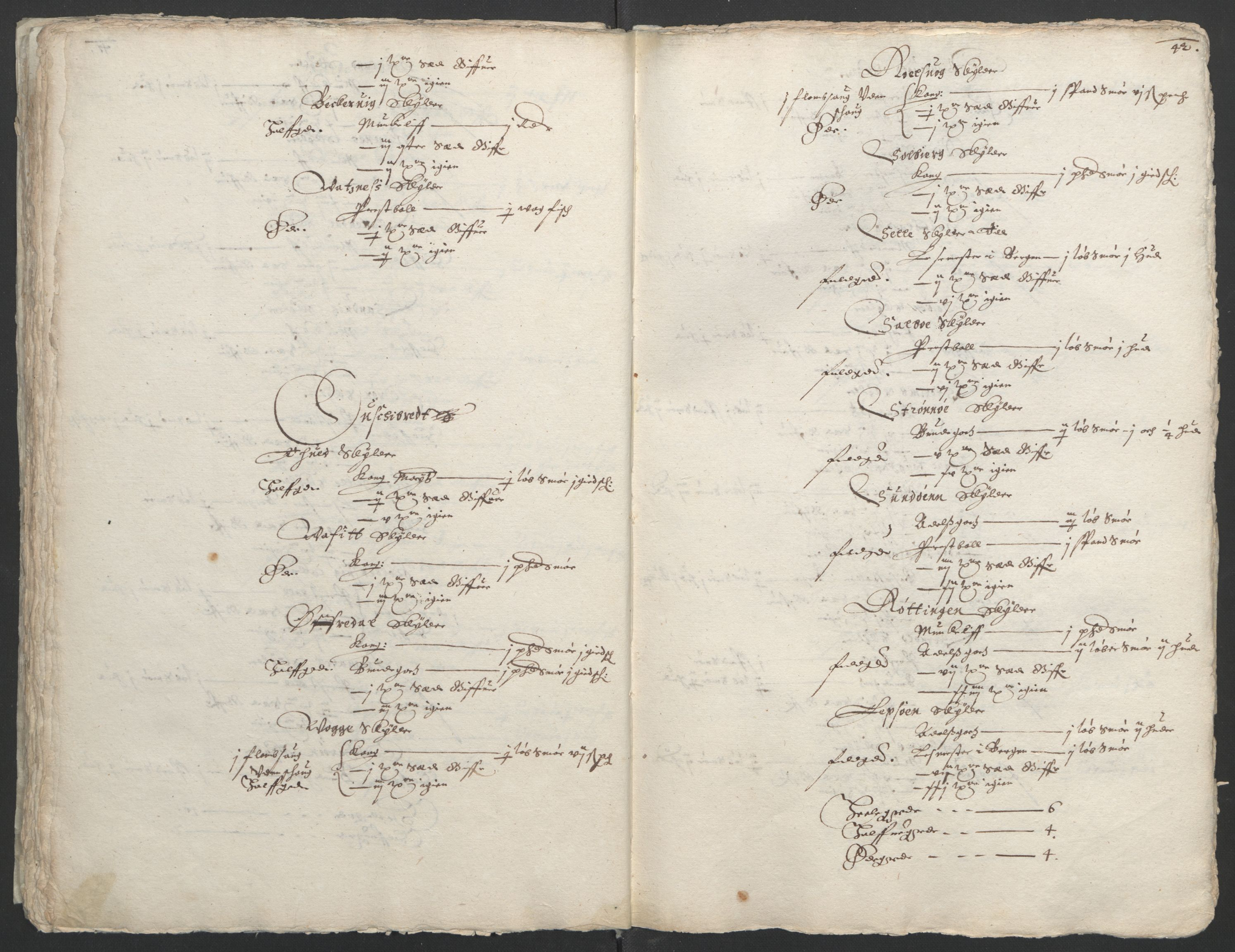 RA, Stattholderembetet 1572-1771, Ek/L0004: Jordebøker til utlikning av garnisonsskatt 1624-1626:, 1626, s. 46