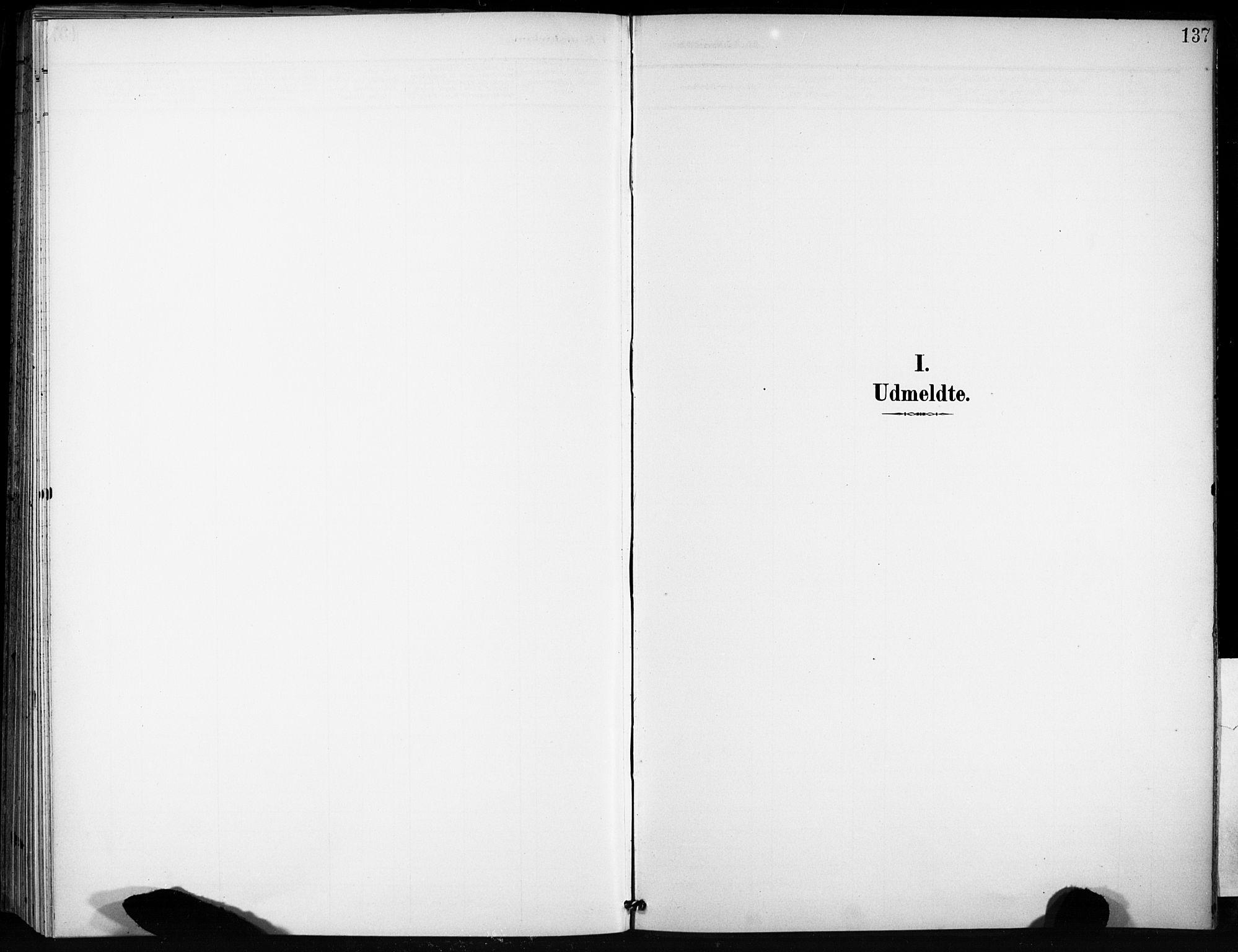 SAT, Ministerialprotokoller, klokkerbøker og fødselsregistre - Sør-Trøndelag, 666/L0787: Ministerialbok nr. 666A05, 1895-1908, s. 137