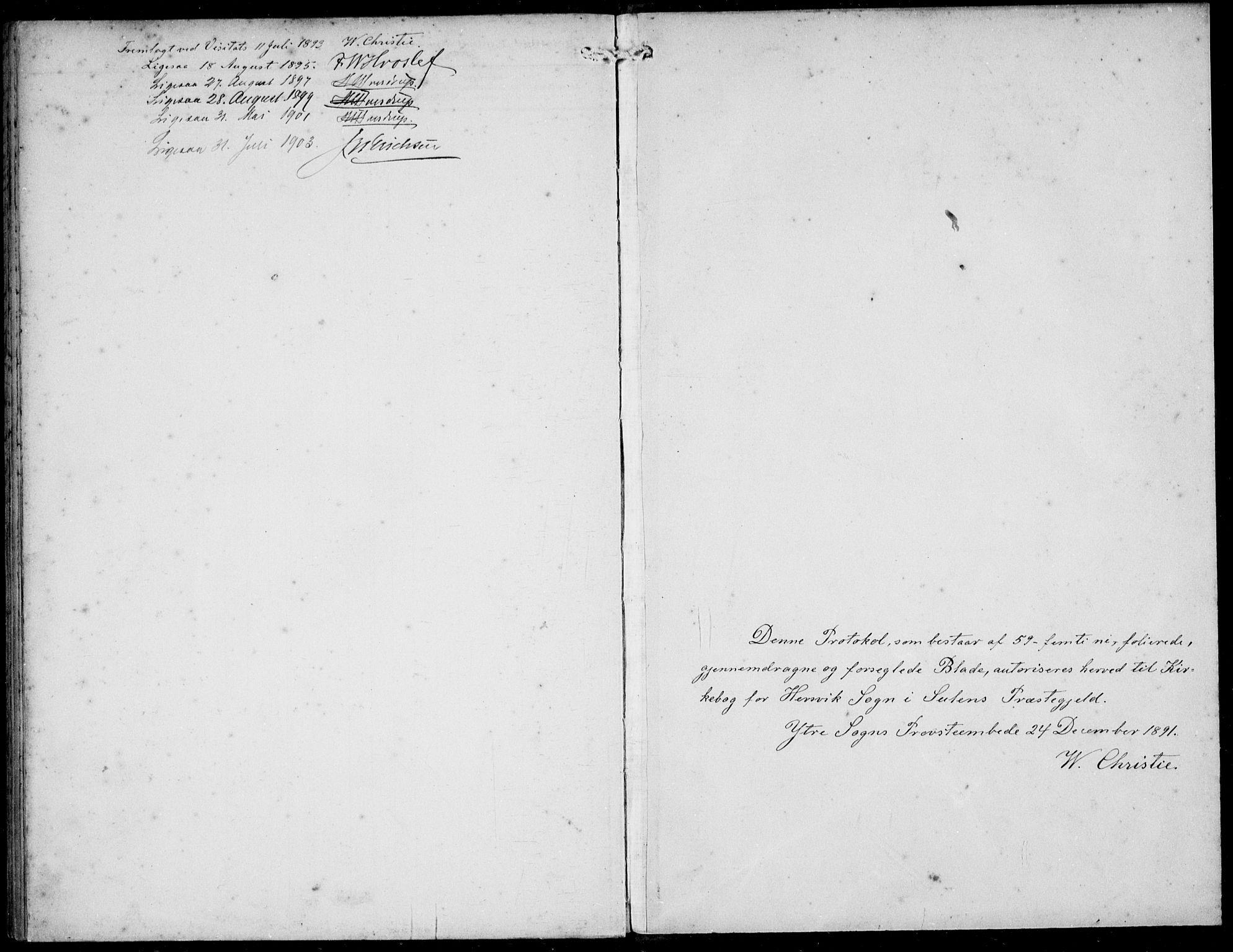 SAB, Solund sokneprestembete, Ministerialbok nr. B  1, 1891-1901, s. 52