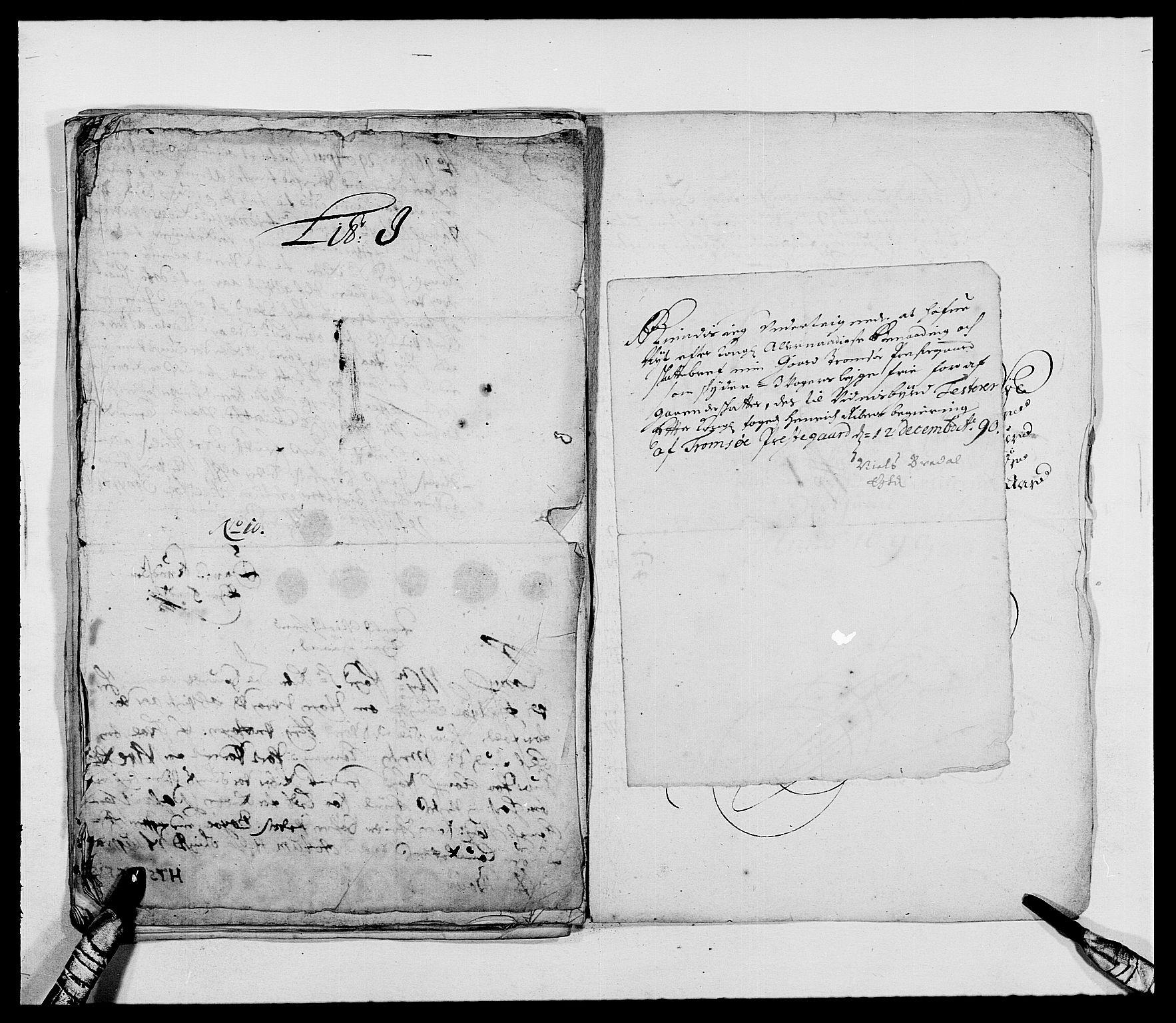 RA, Rentekammeret inntil 1814, Reviderte regnskaper, Fogderegnskap, R68/L4751: Fogderegnskap Senja og Troms, 1690-1693, s. 66