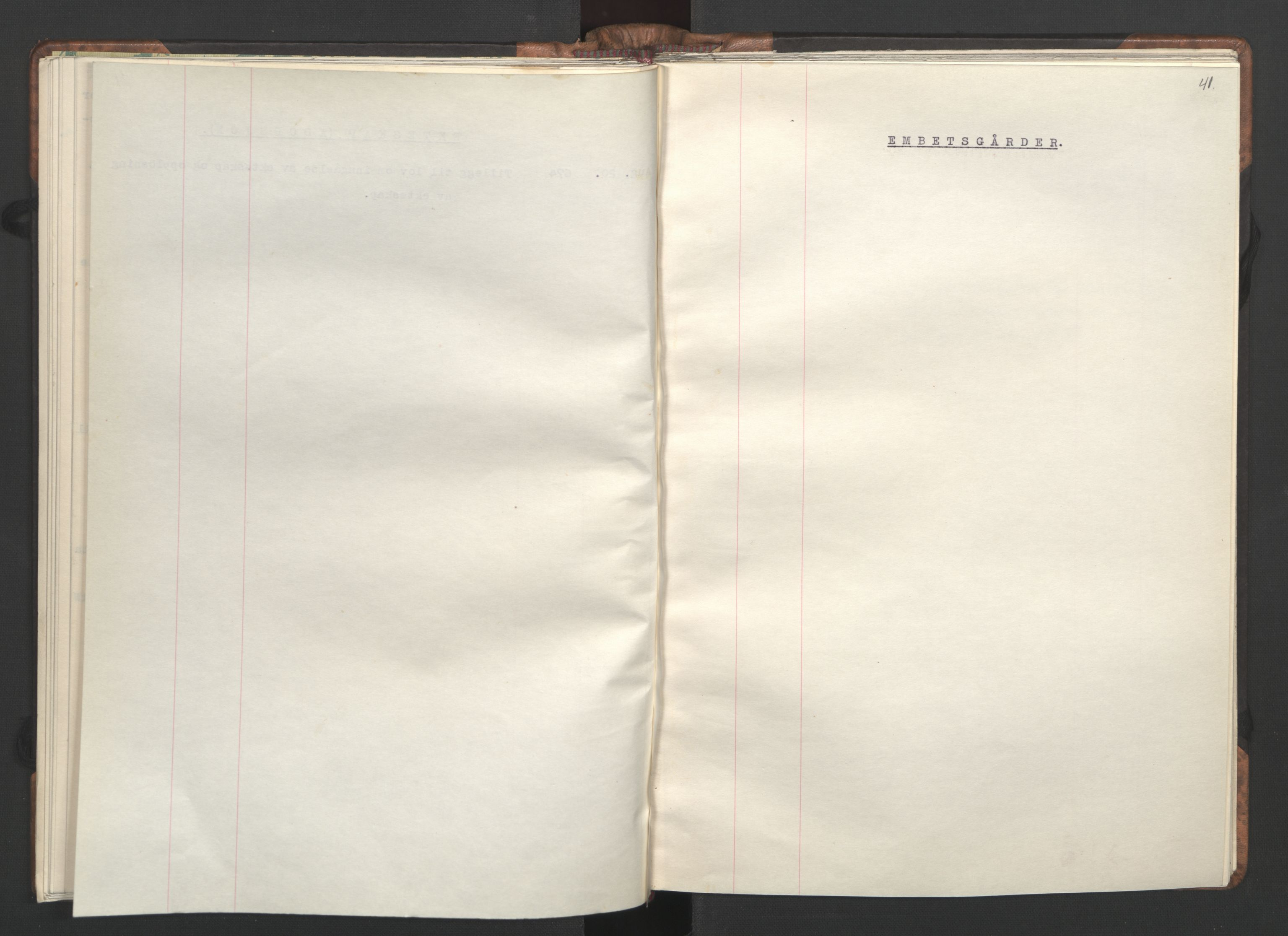 RA, NS-administrasjonen 1940-1945 (Statsrådsekretariatet, de kommisariske statsråder mm), D/Da/L0002: Register (RA j.nr. 985/1943, tilgangsnr. 17/1943), 1942, s. 40b-41a