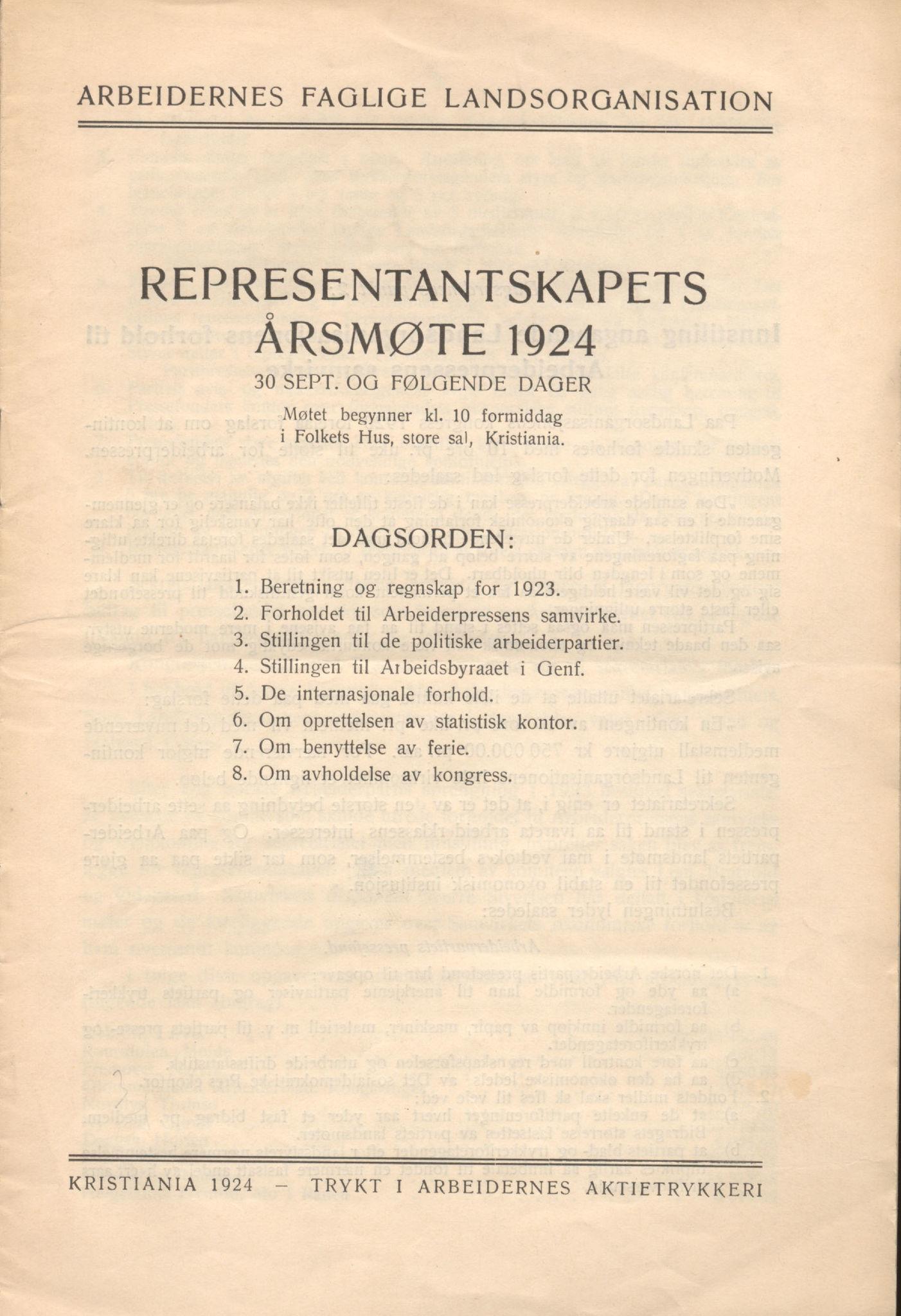 AAB, Landsorganisasjonen i Norge, 1911-1953, s. 15
