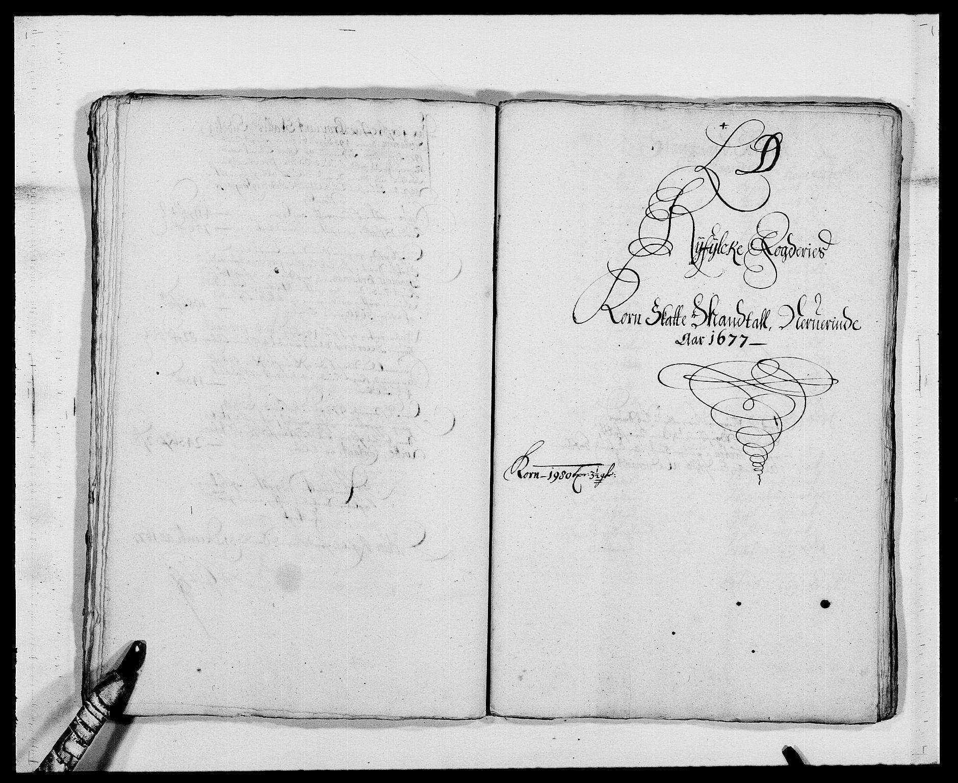RA, Rentekammeret inntil 1814, Reviderte regnskaper, Fogderegnskap, R47/L2847: Fogderegnskap Ryfylke, 1677, s. 124