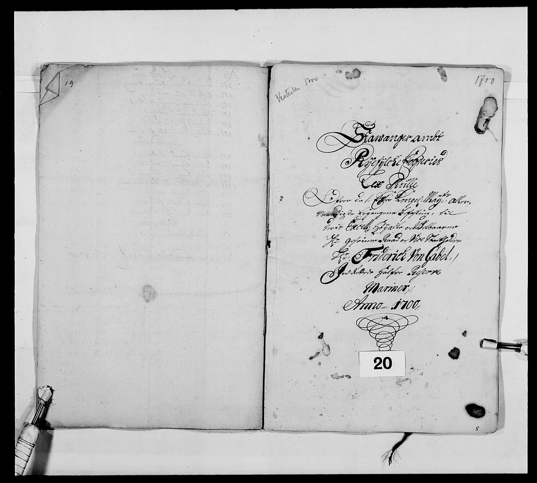 RA, Kommanderende general (KG I) med Det norske krigsdirektorium, E/Ea/L0473: Marineregimentet, 1664-1700, s. 250