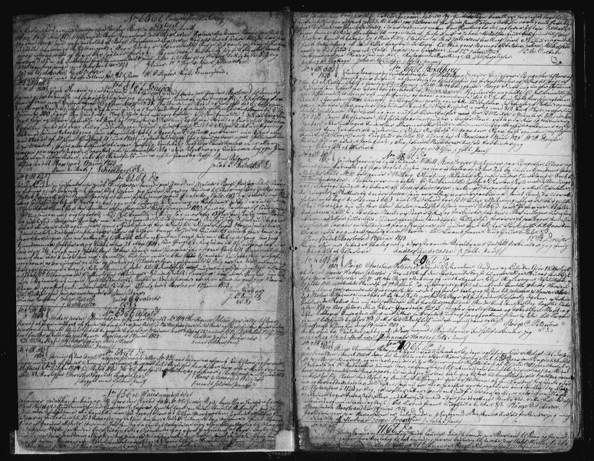 SAT, Vesterålen sorenskriveri, 2/2Ca/L0007: Pantebok nr. G, 1823-1836, s. 3