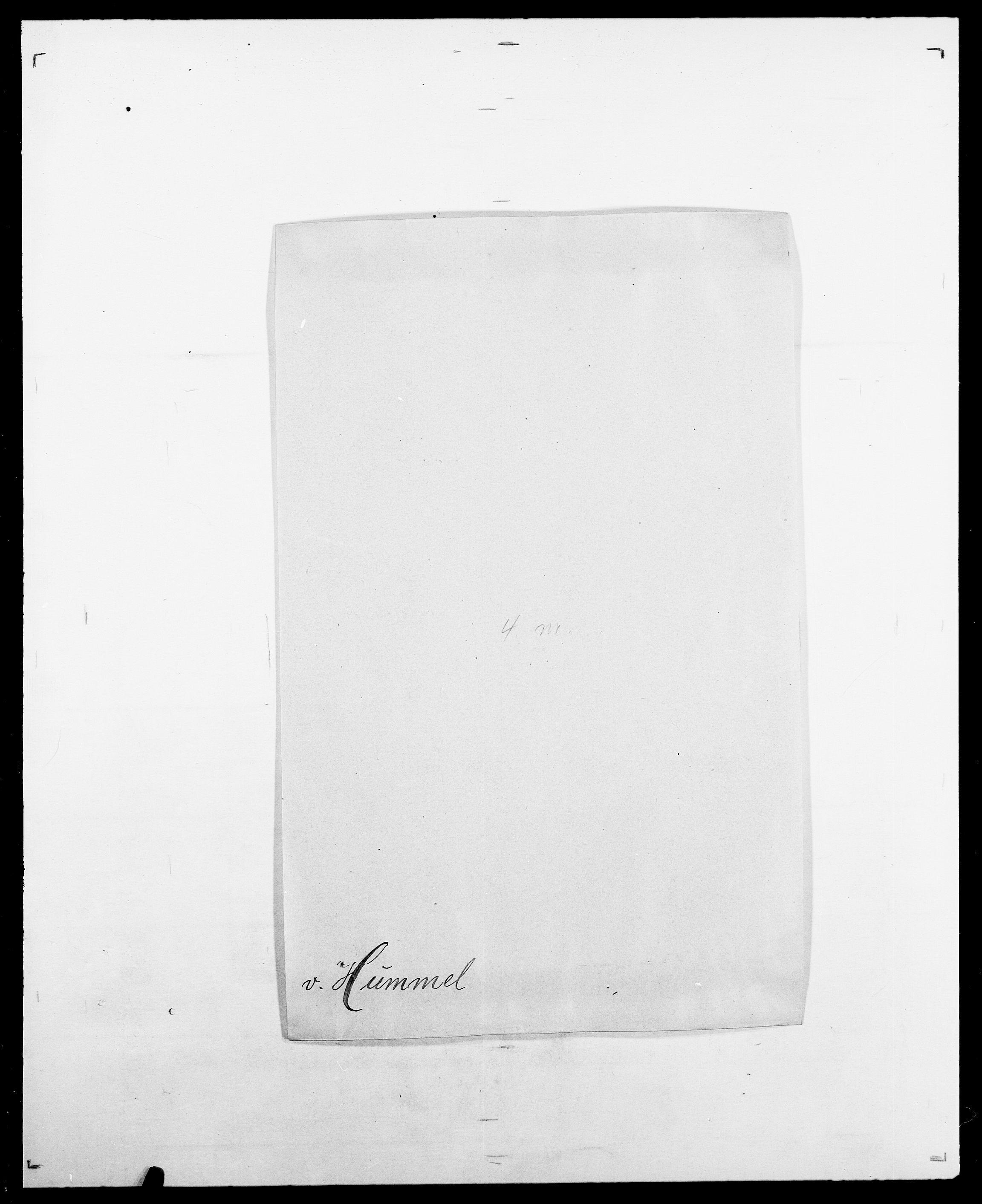 SAO, Delgobe, Charles Antoine - samling, D/Da/L0019: van der Hude - Joys, s. 54
