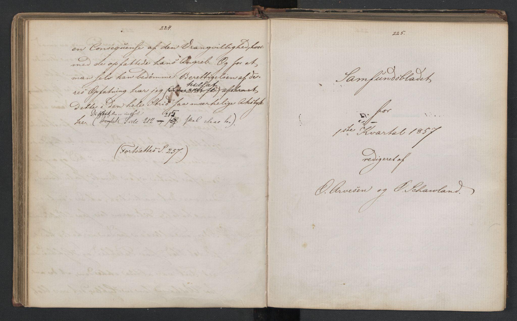 RA, Det Norske Studentersamfund, X/Xa/L0006, 1856-1857, s. 116
