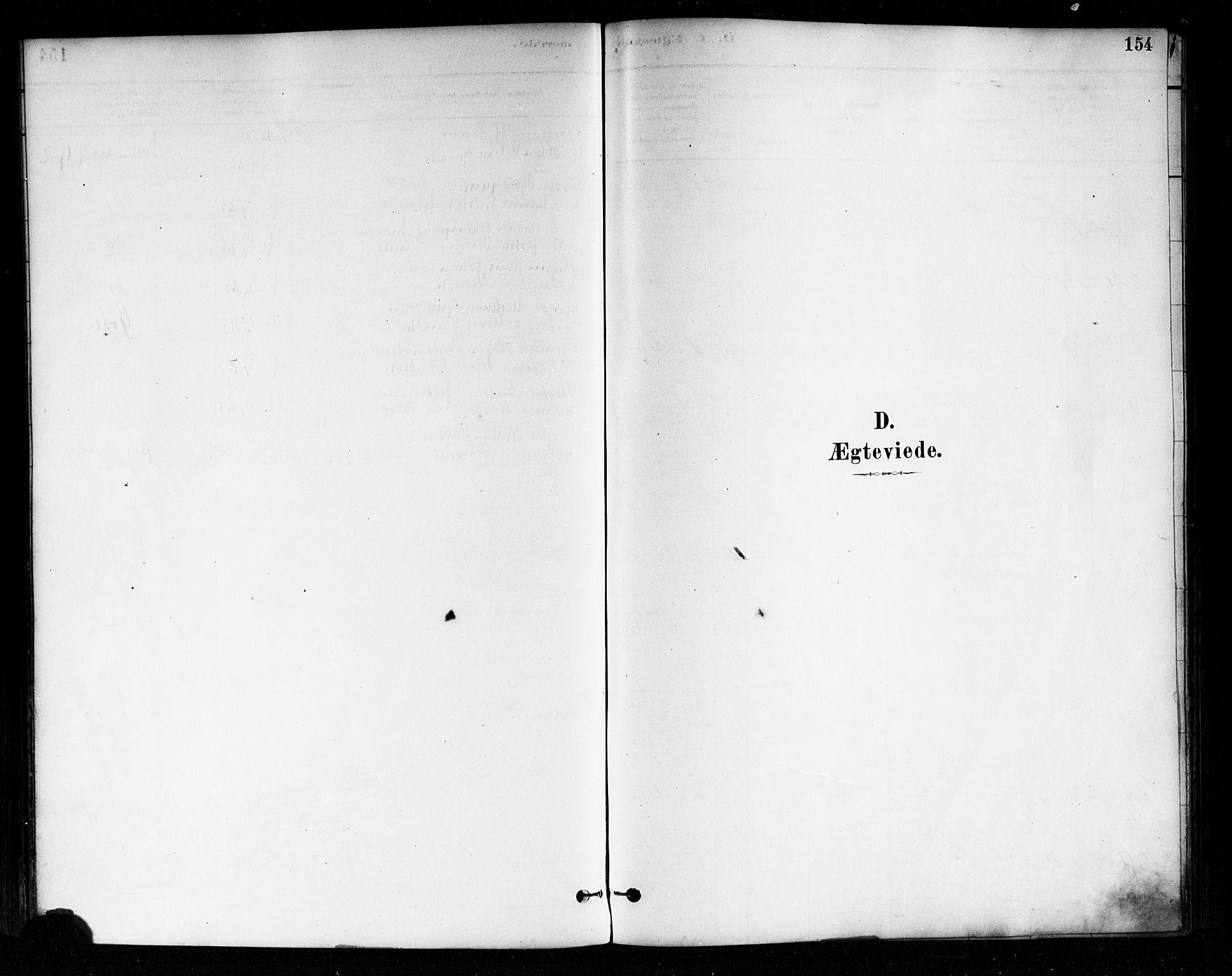SAO, Askim prestekontor Kirkebøker, F/Fa/L0007: Ministerialbok nr. 7, 1882-1897, s. 154