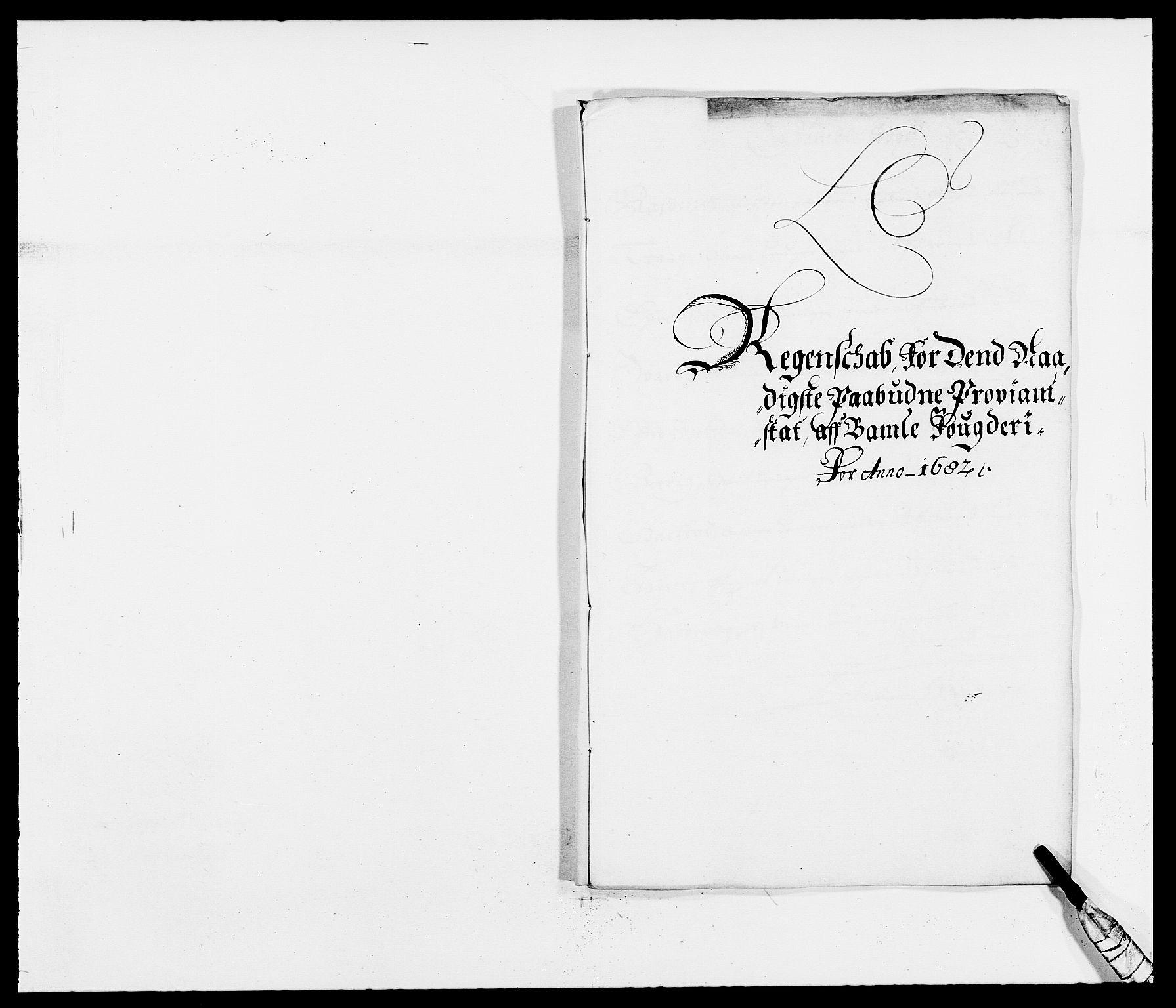 RA, Rentekammeret inntil 1814, Reviderte regnskaper, Fogderegnskap, R34/L2046: Fogderegnskap Bamble, 1682-1683, s. 96