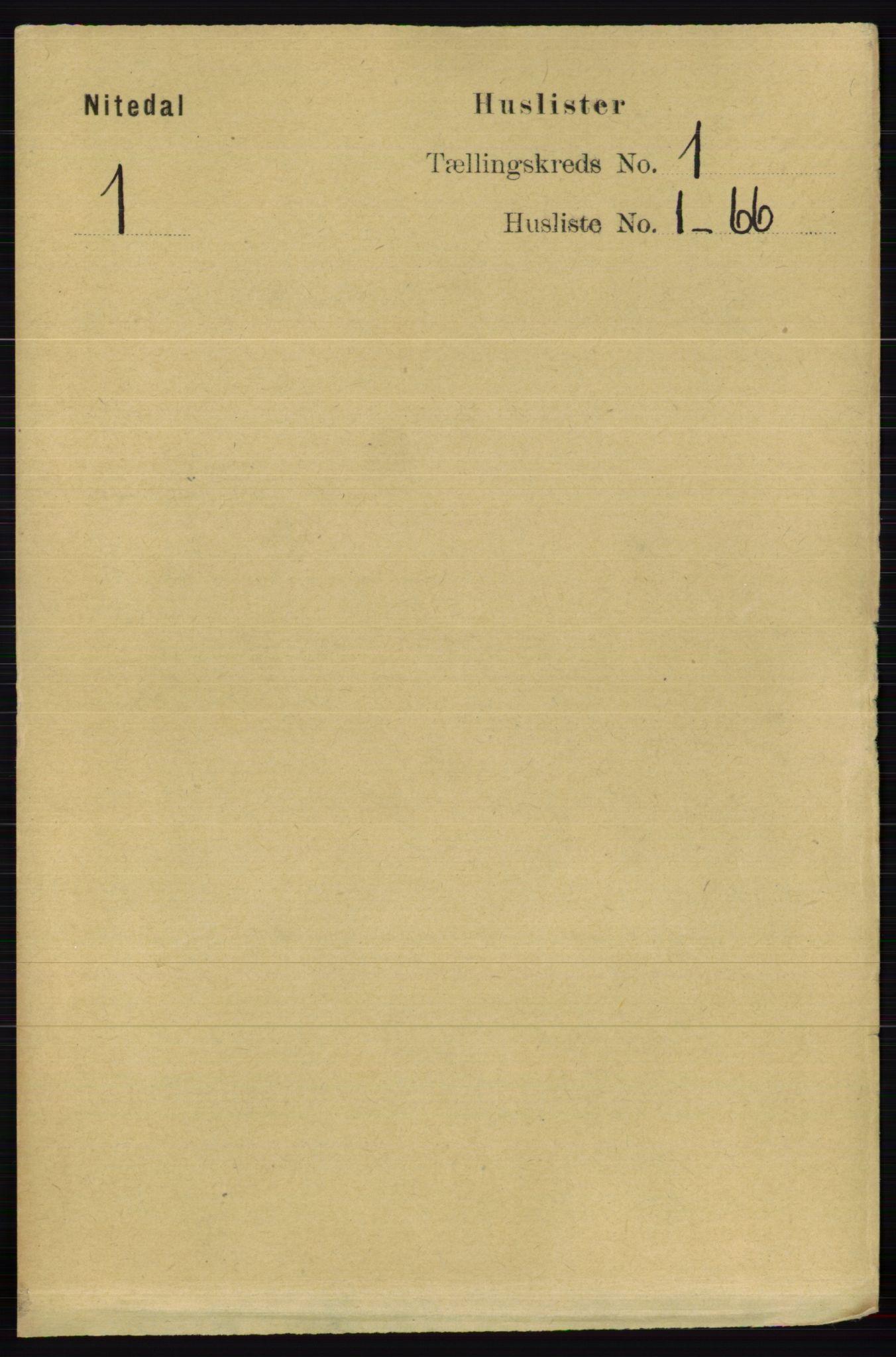 RA, Folketelling 1891 for 0233 Nittedal herred, 1891, s. 20