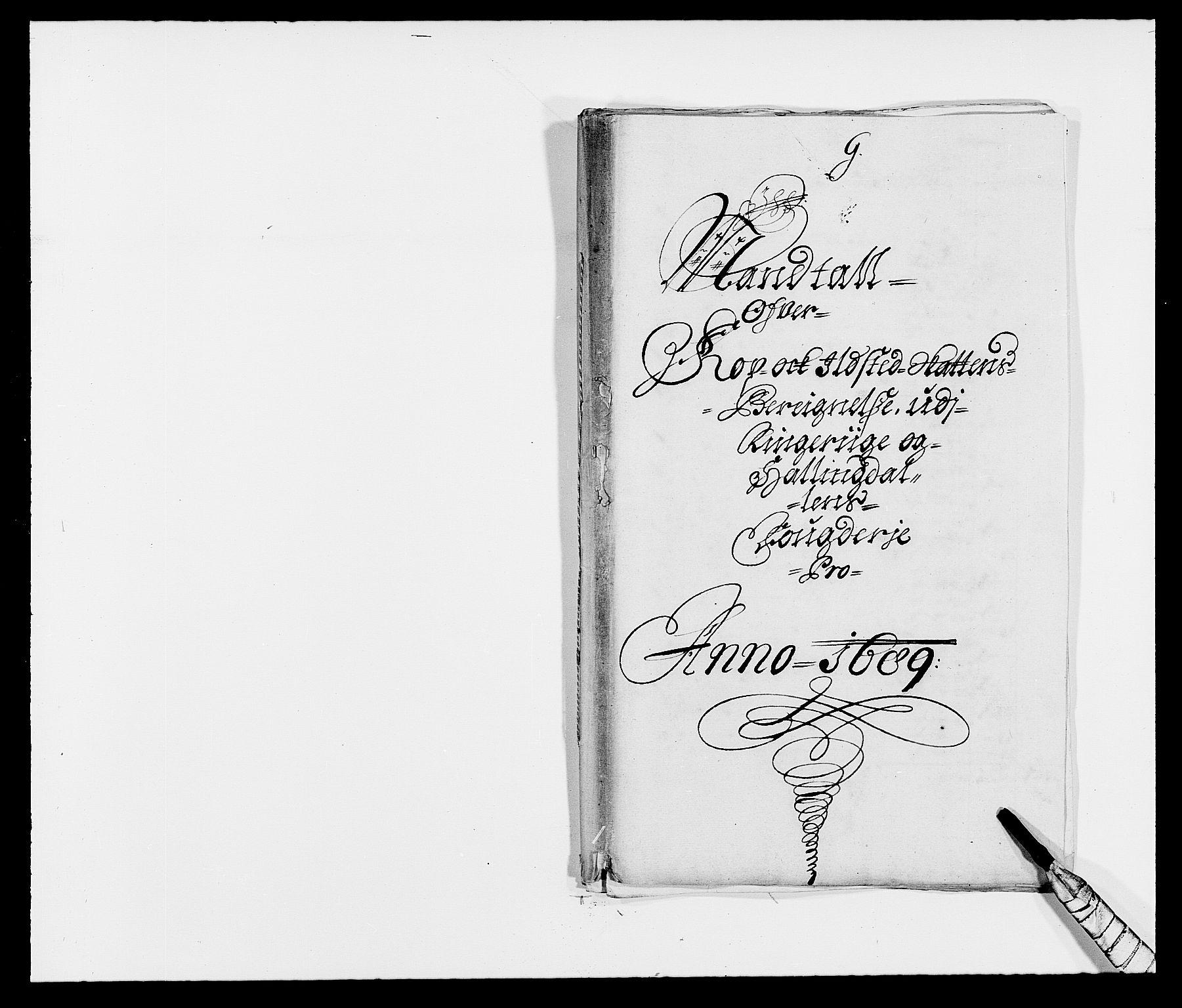 RA, Rentekammeret inntil 1814, Reviderte regnskaper, Fogderegnskap, R21/L1447: Fogderegnskap Ringerike og Hallingdal, 1687-1689, s. 327