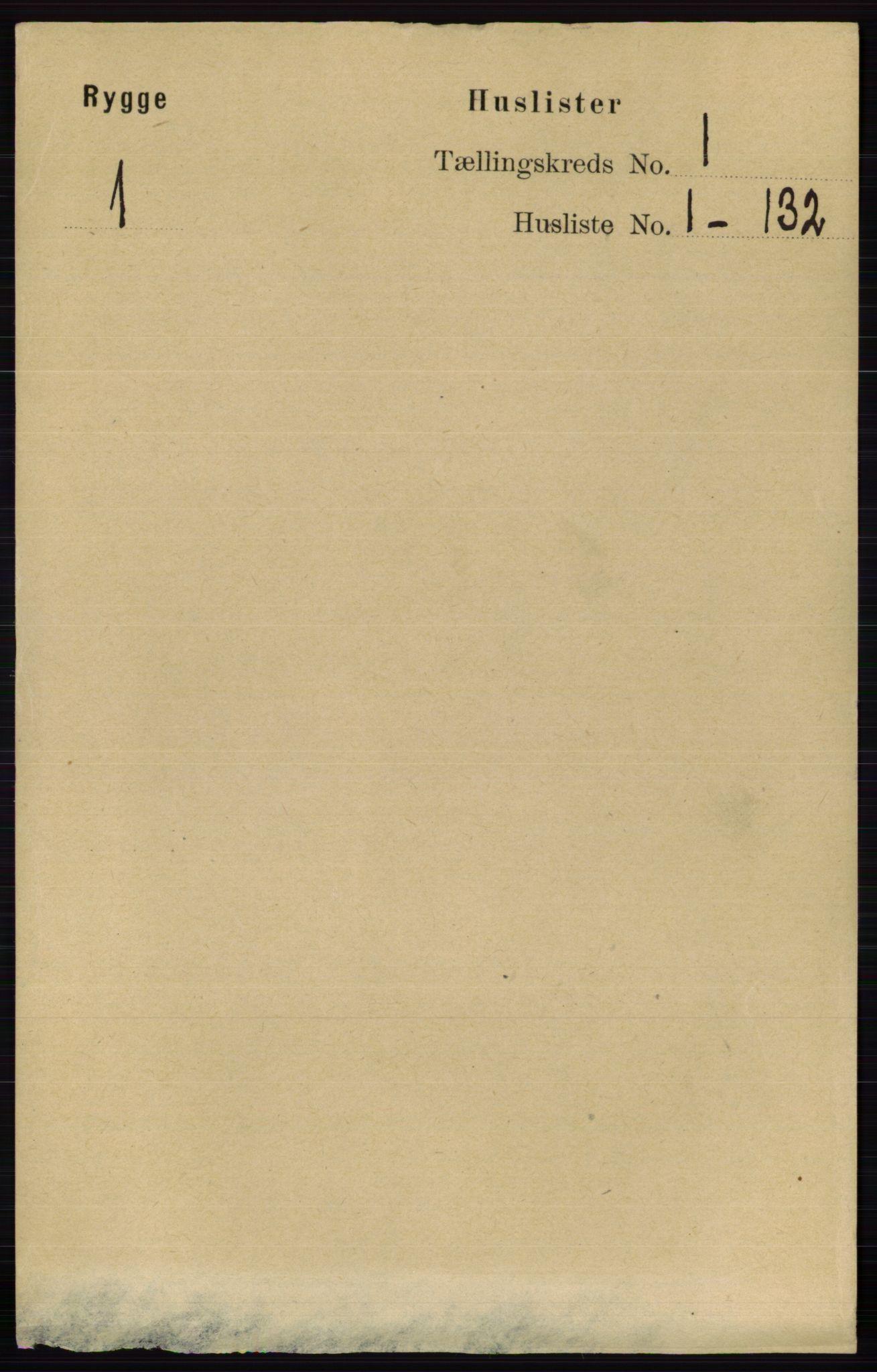 RA, Folketelling 1891 for 0136 Rygge herred, 1891, s. 22