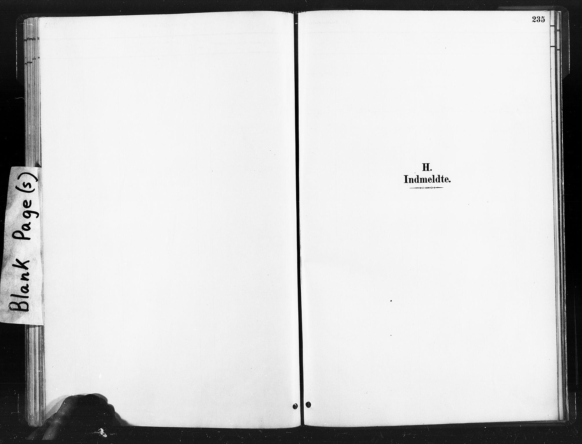 SAT, Ministerialprotokoller, klokkerbøker og fødselsregistre - Nord-Trøndelag, 736/L0361: Ministerialbok nr. 736A01, 1884-1906, s. 235