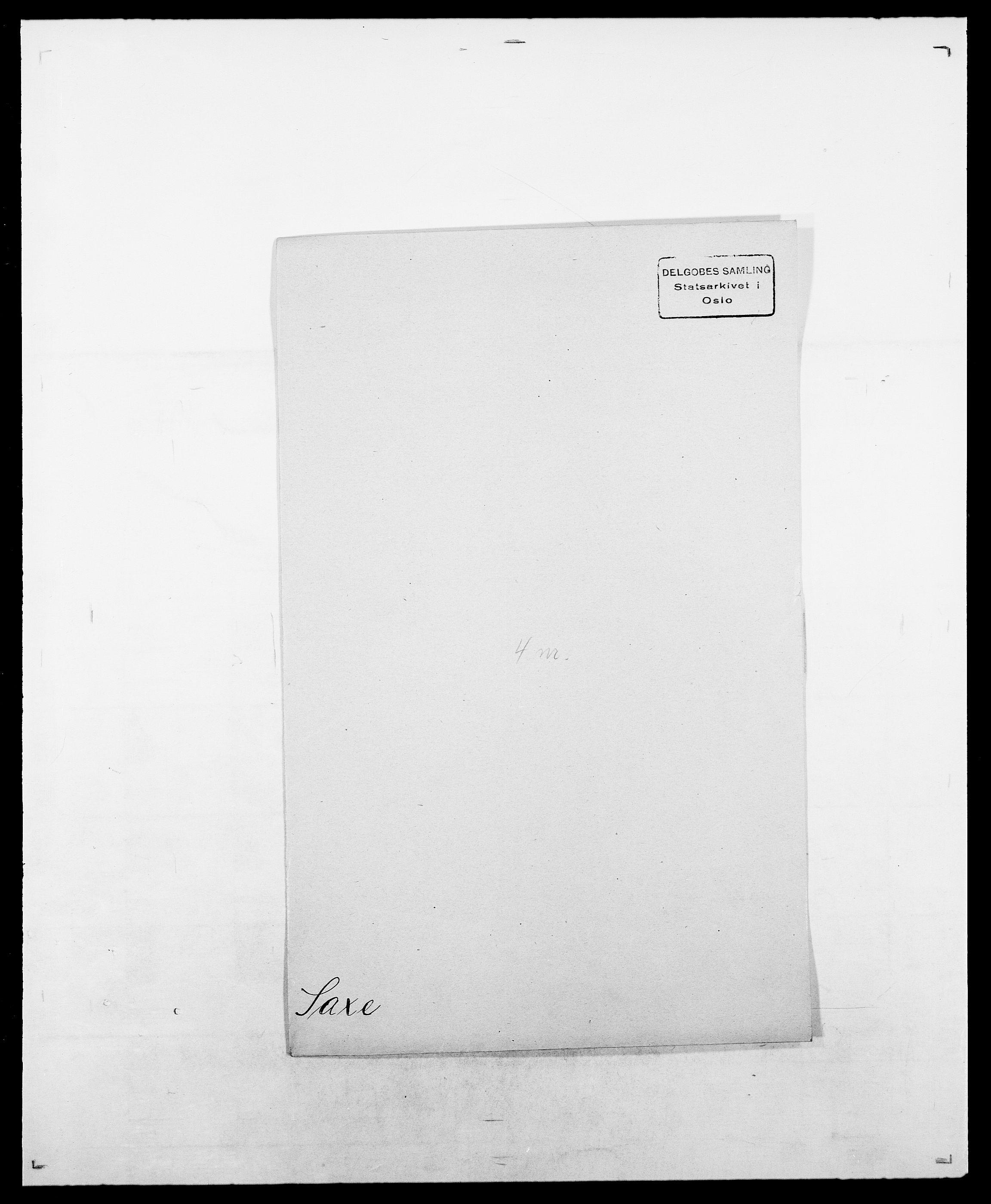 SAO, Delgobe, Charles Antoine - samling, D/Da/L0034: Saabye - Schmincke, s. 228