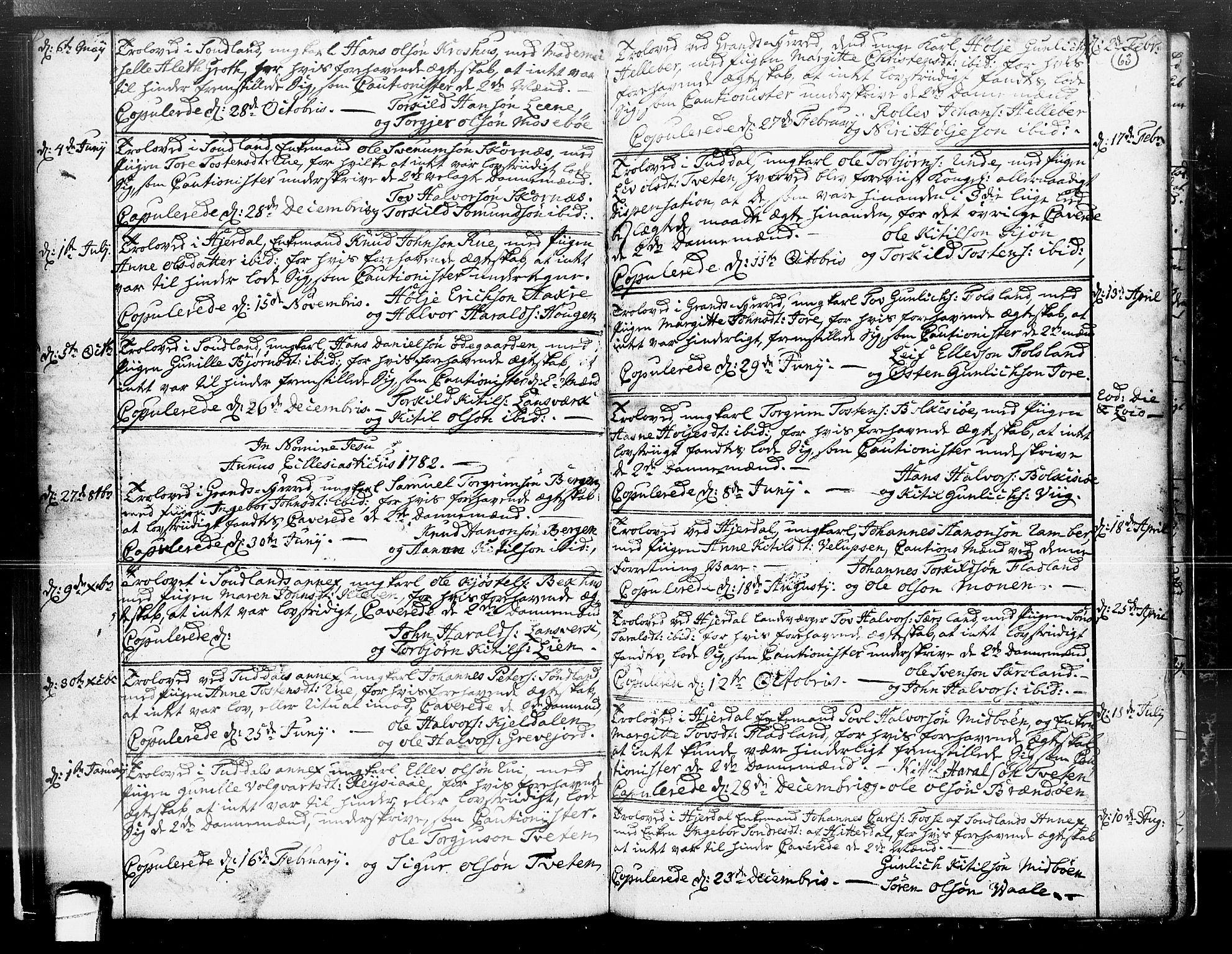 SAKO, Hjartdal kirkebøker, F/Fa/L0004: Ministerialbok nr. I 4, 1727-1795, s. 63