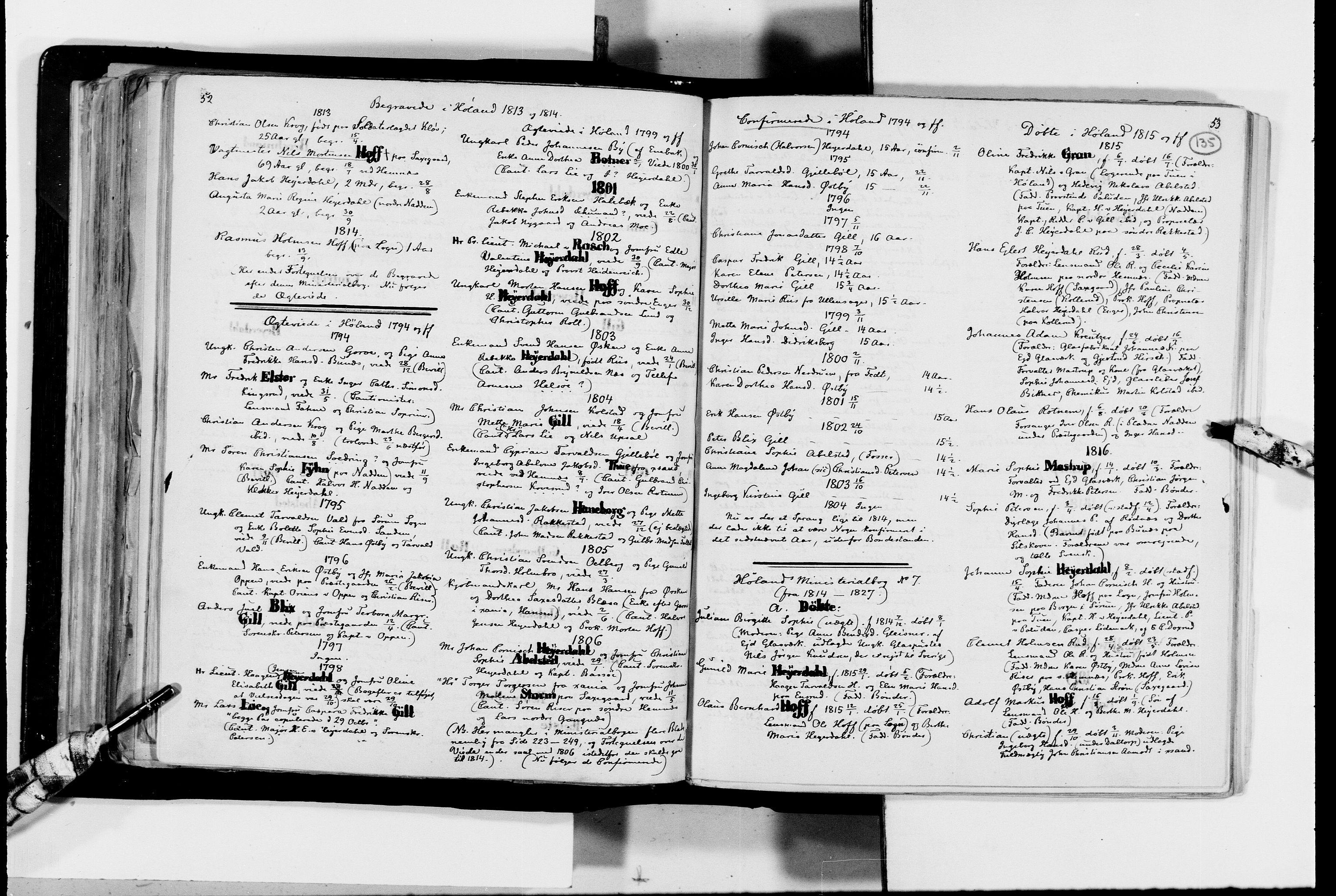 RA, Lassens samlinger, F/Fc, s. 135