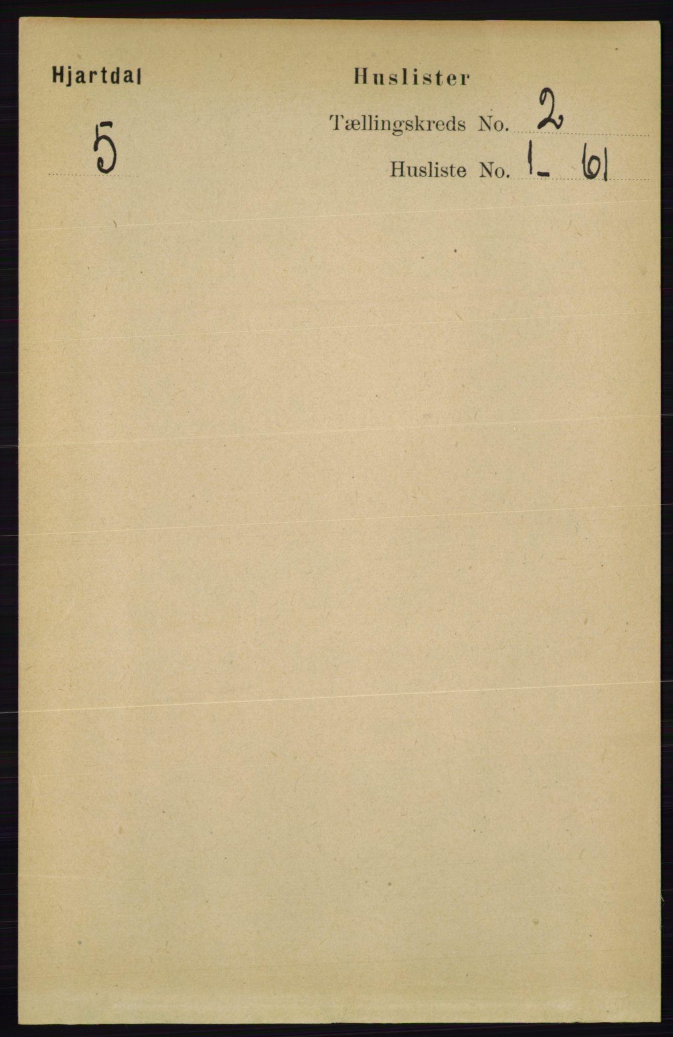 RA, Folketelling 1891 for 0827 Hjartdal herred, 1891, s. 628