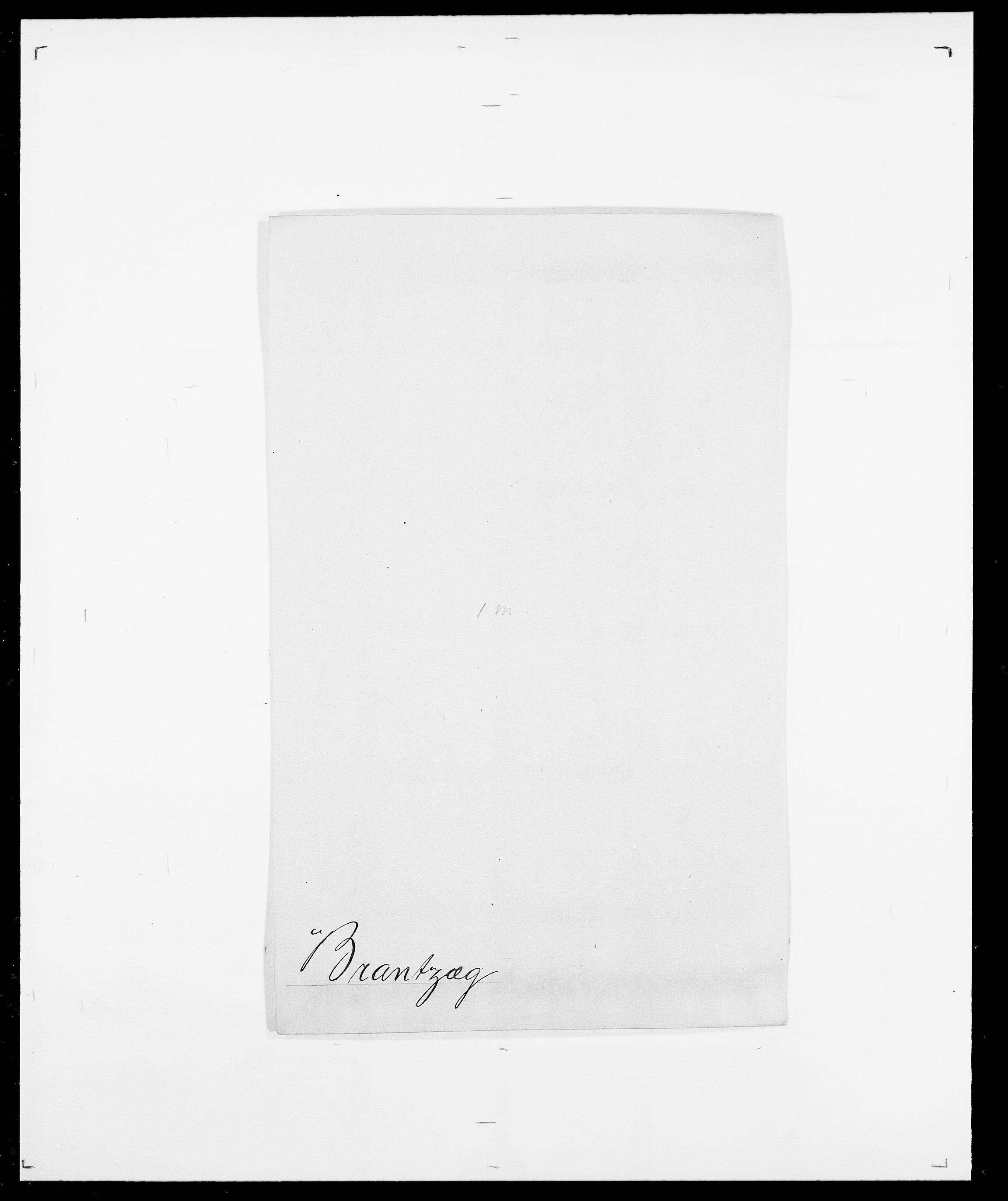 SAO, Delgobe, Charles Antoine - samling, D/Da/L0006: Brambani - Brønø, s. 169