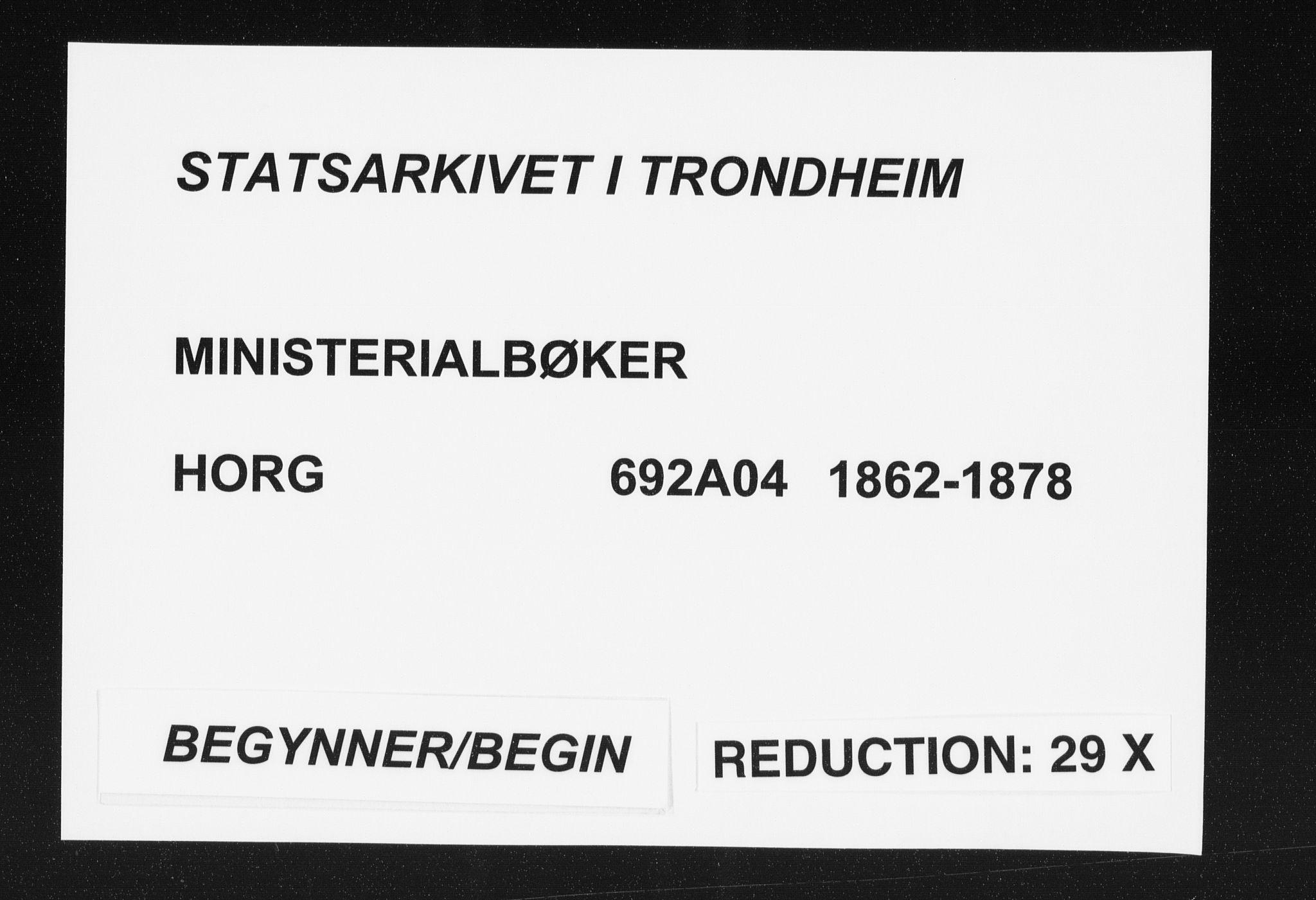 SAT, Ministerialprotokoller, klokkerbøker og fødselsregistre - Sør-Trøndelag, 692/L1104: Ministerialbok nr. 692A04, 1862-1878