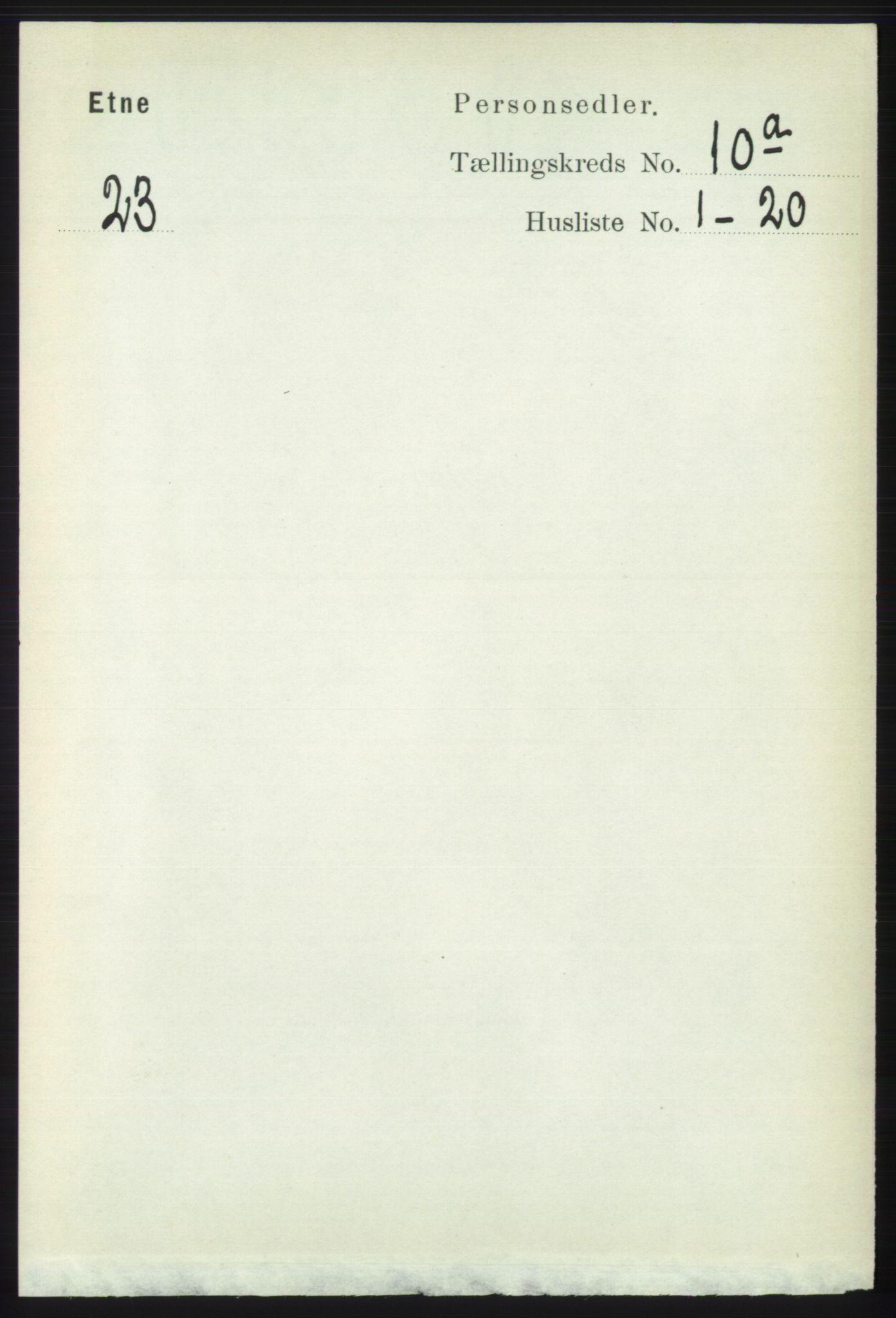 RA, Folketelling 1891 for 1211 Etne herred, 1891, s. 1861