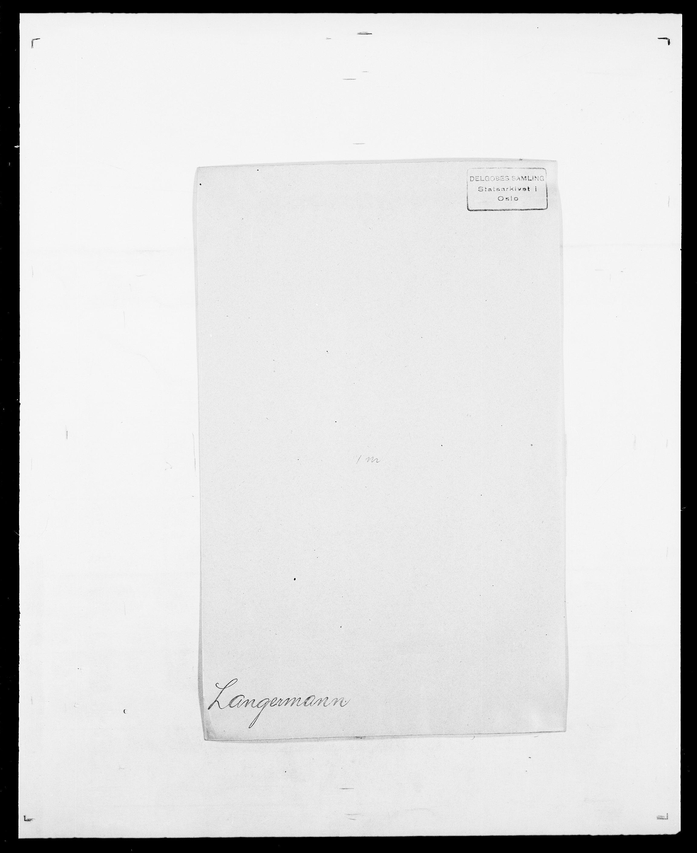 SAO, Delgobe, Charles Antoine - samling, D/Da/L0022: Krog - Lasteen, s. 688