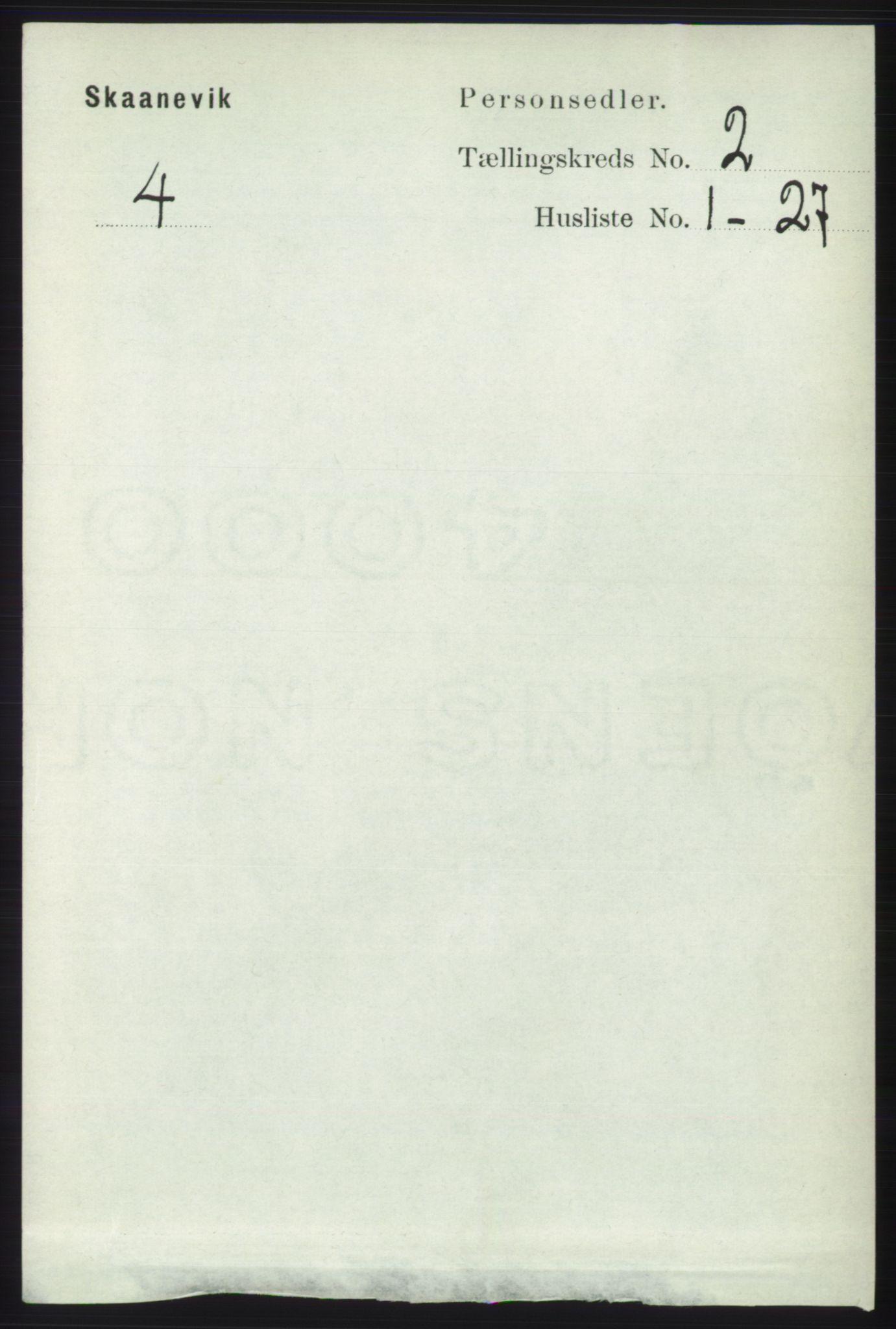 RA, Folketelling 1891 for 1212 Skånevik herred, 1891, s. 320