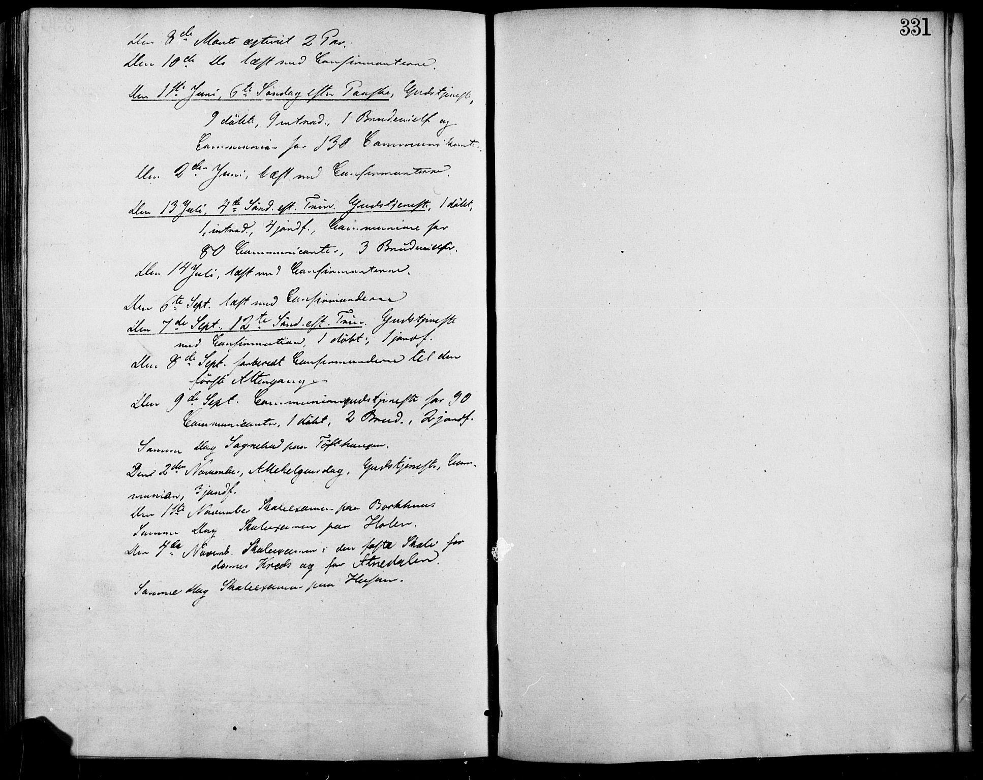 SAH, Lesja prestekontor, Ministerialbok nr. 7, 1854-1862, s. 331
