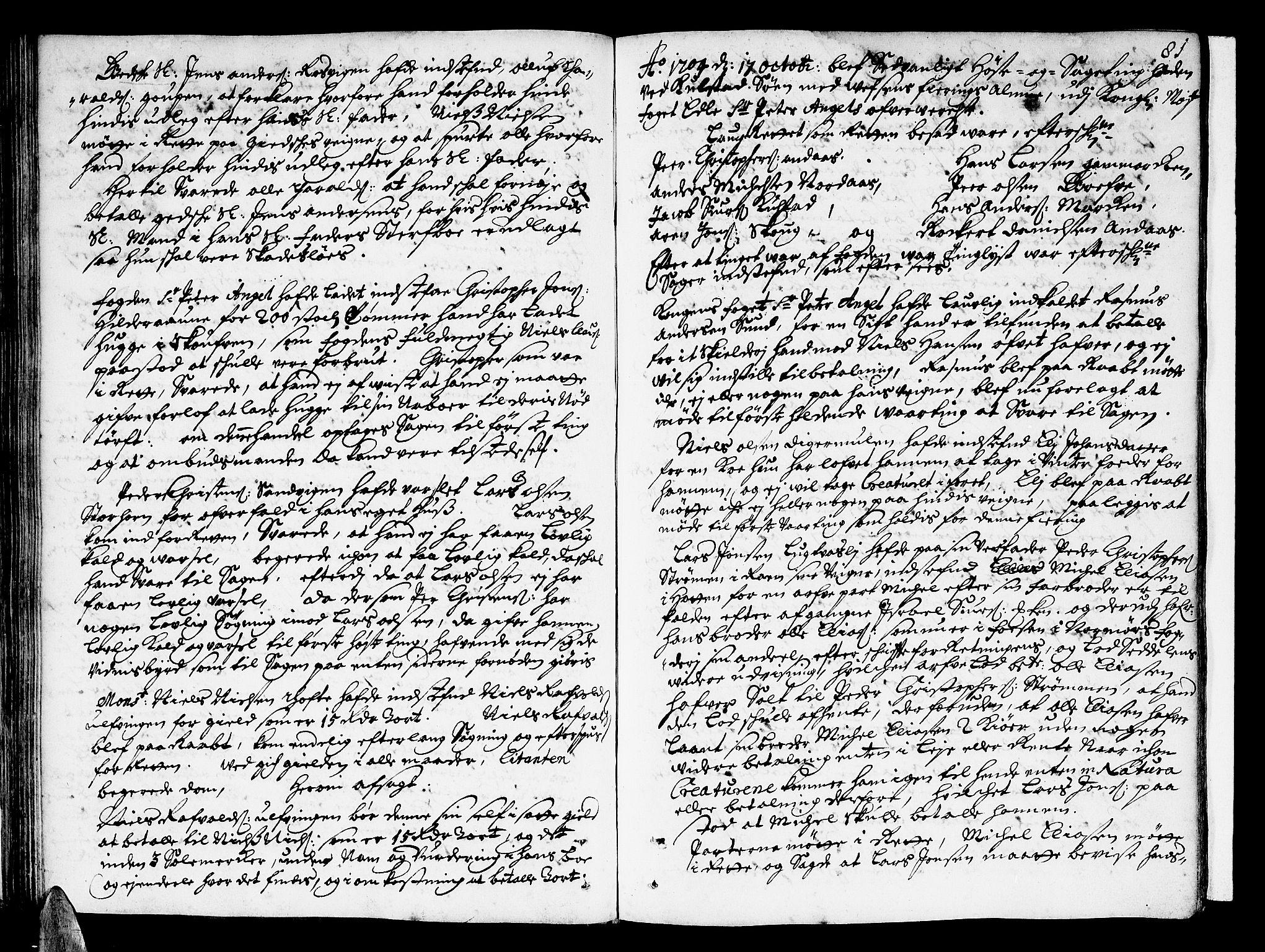 SAT, Helgeland sorenskriveri, 1/1A/L0003: Tingbok 3, 1700-1709, s. 81